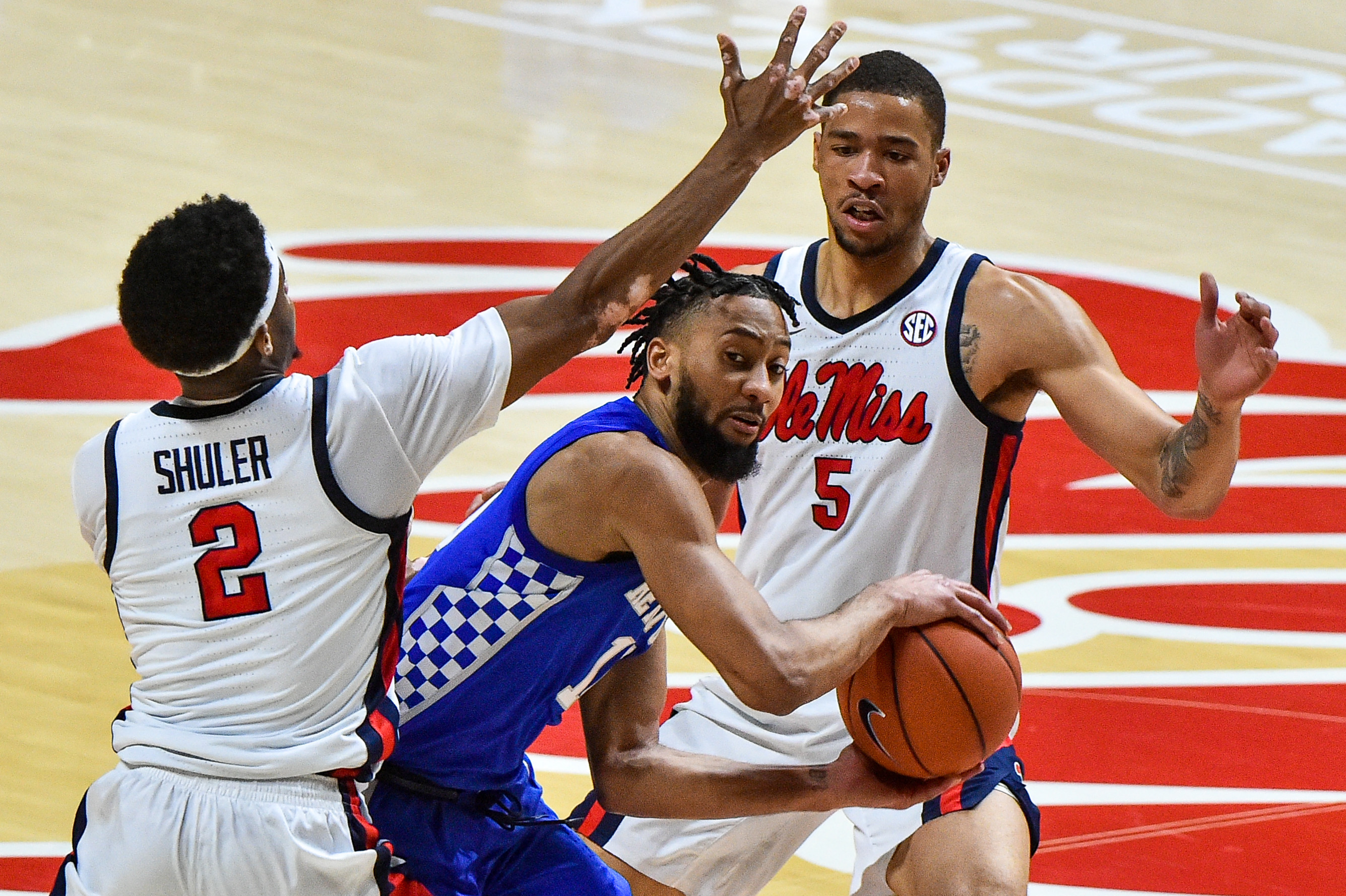 NCAA Basketball: Kentucky at Mississippi