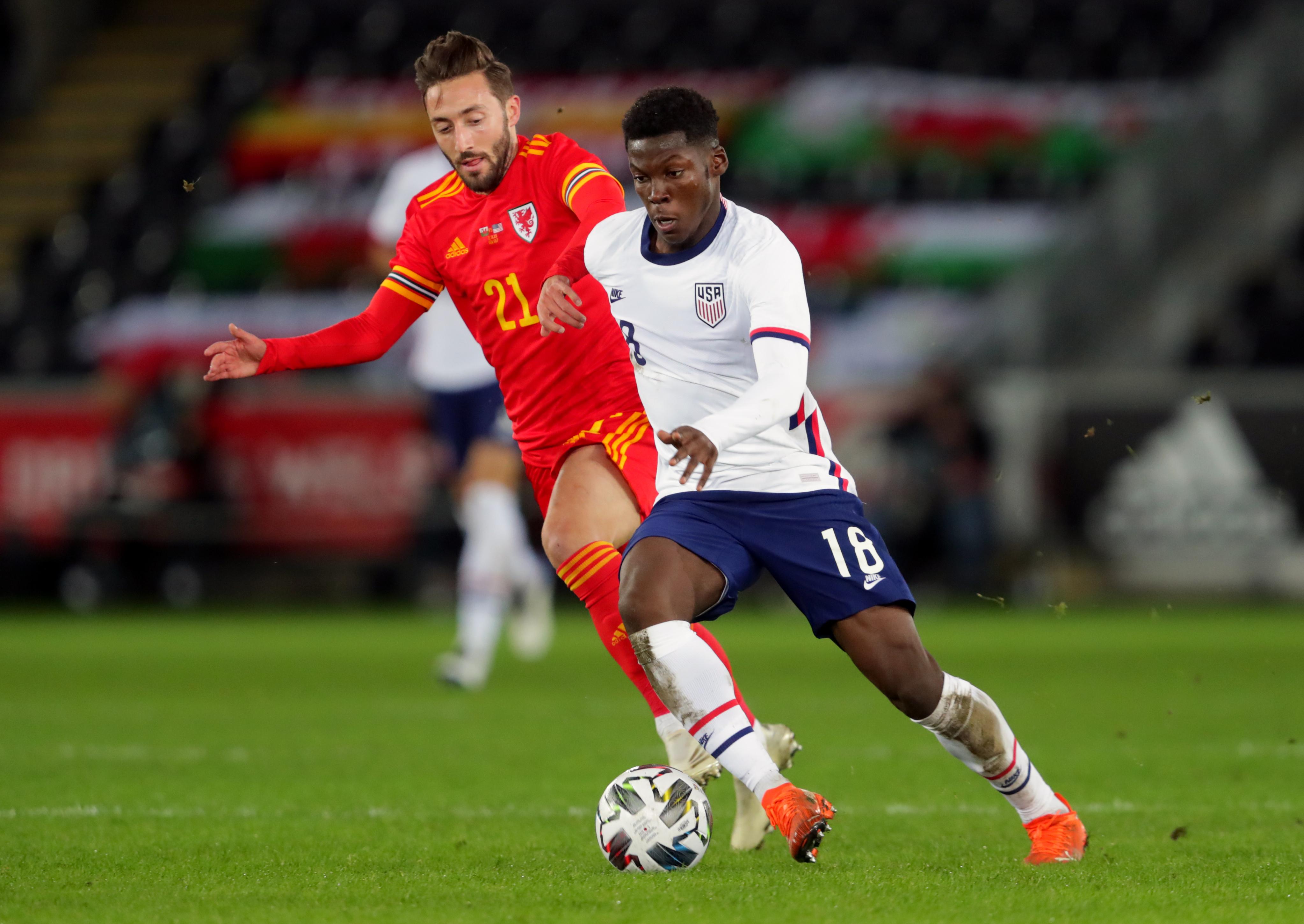 Wales v USA - International Friendly - Liberty Stadium