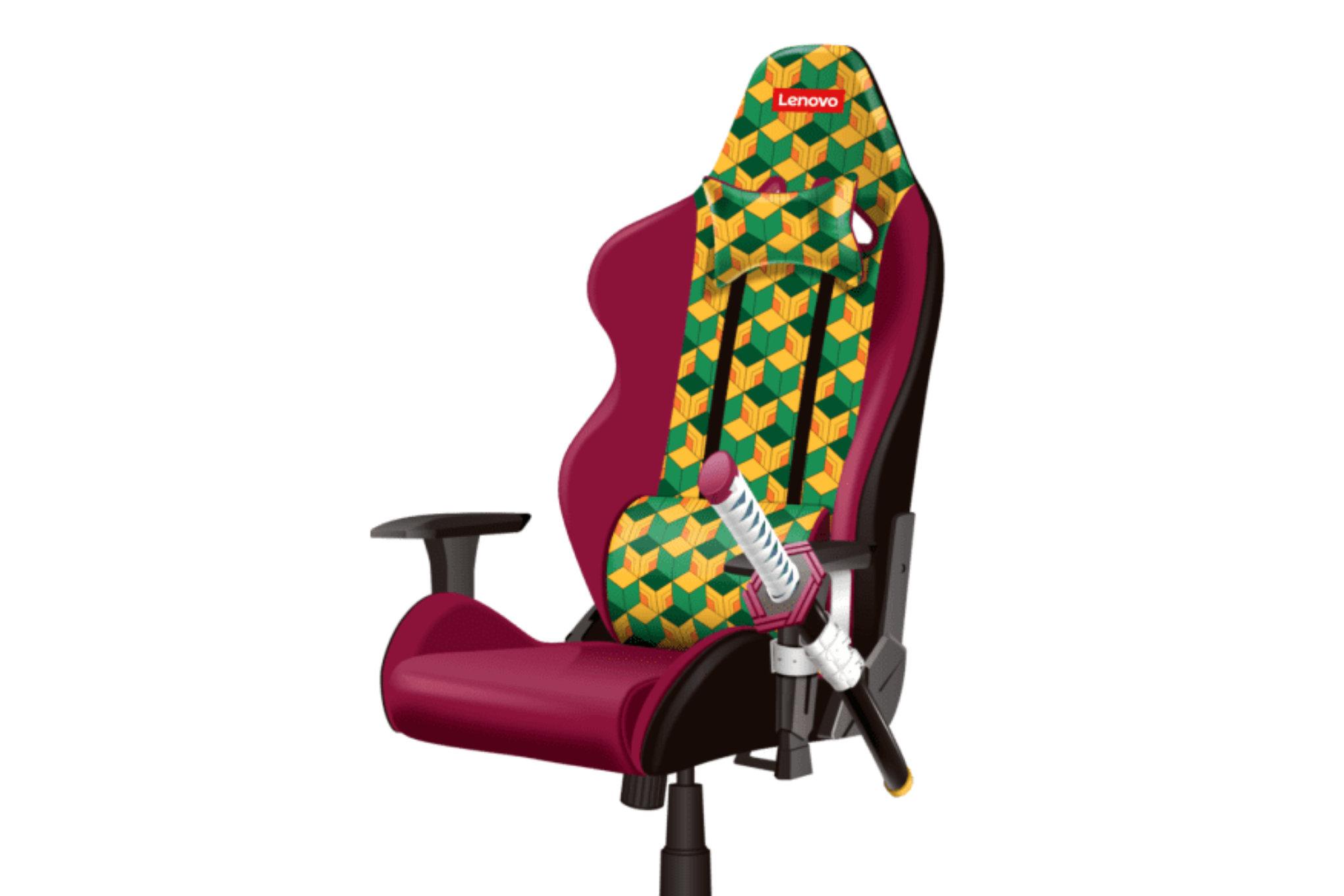 Demon Slayer Lenovo gaming chair