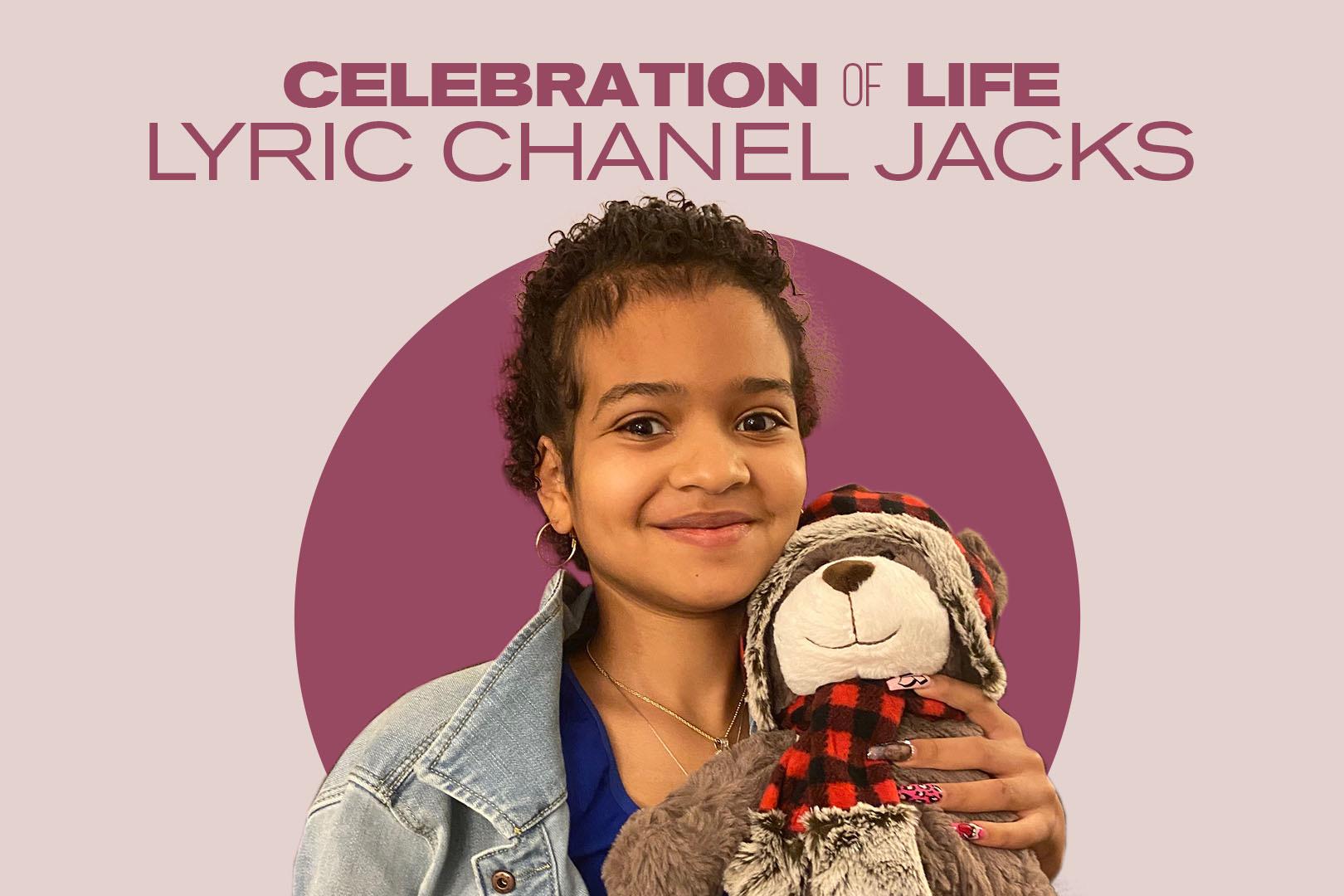 Lyric Chanel Jacks' celebration of life