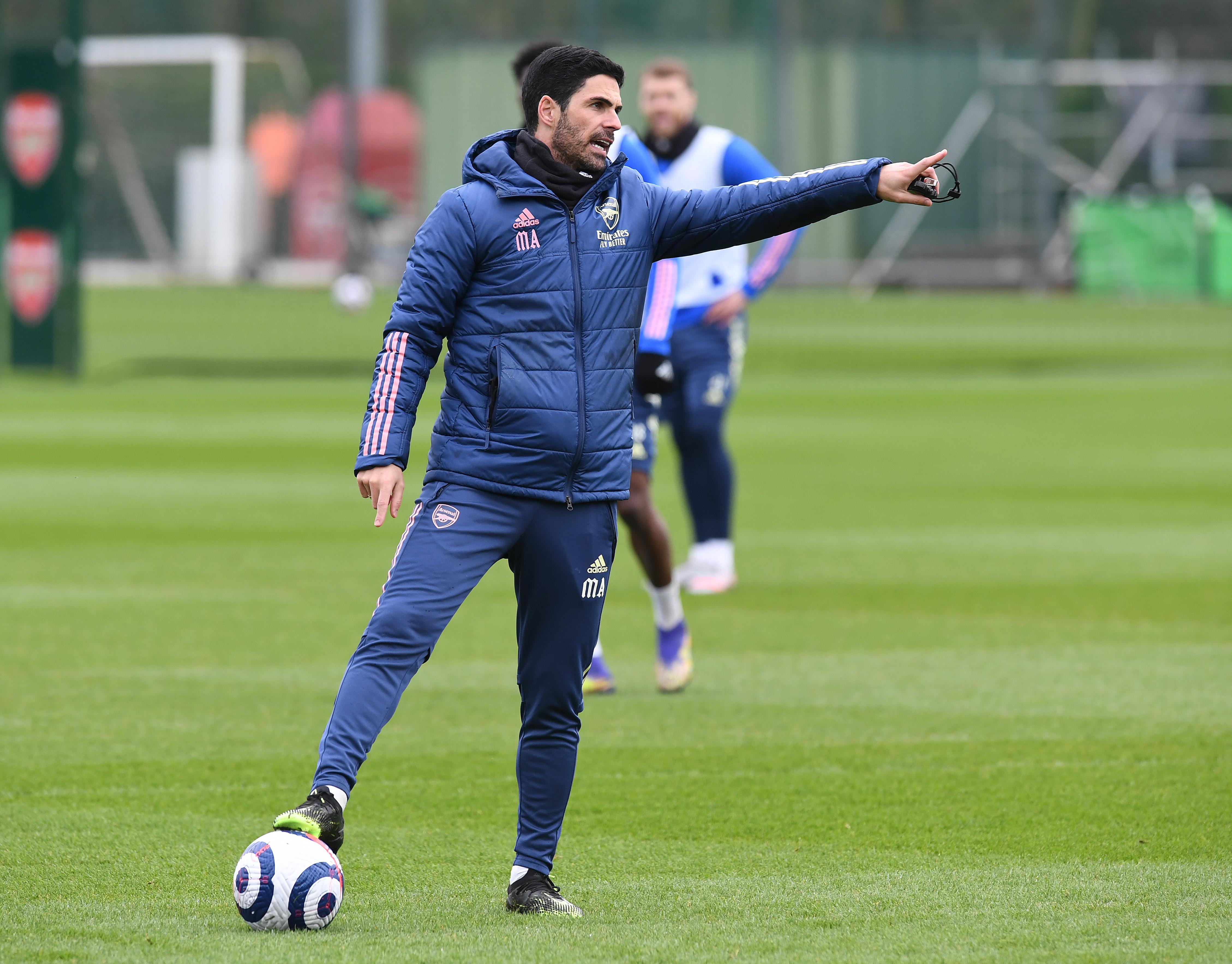 Arsenal Training Session