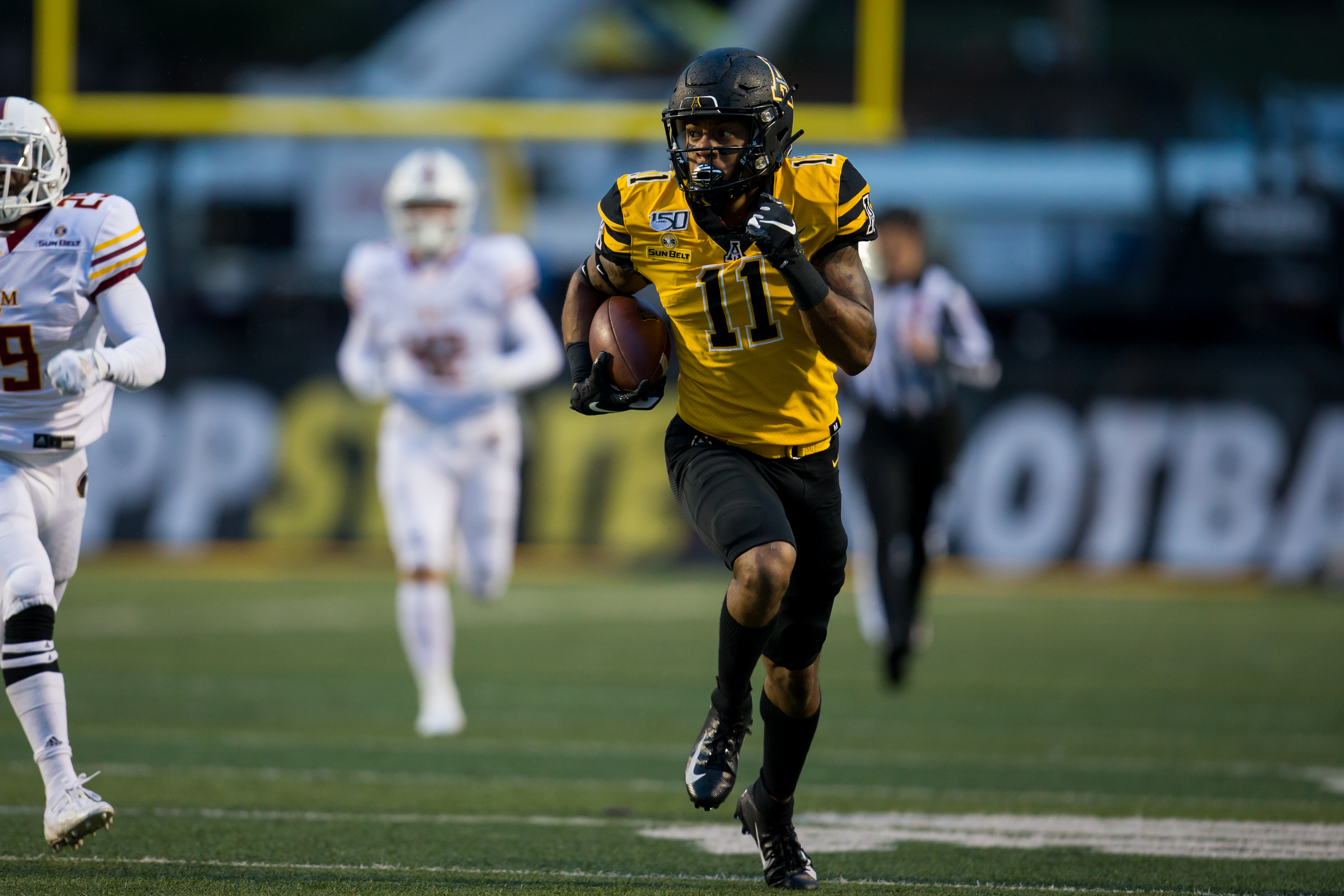 COLLEGE FOOTBALL: OCT 19 ULM at Appalachian State