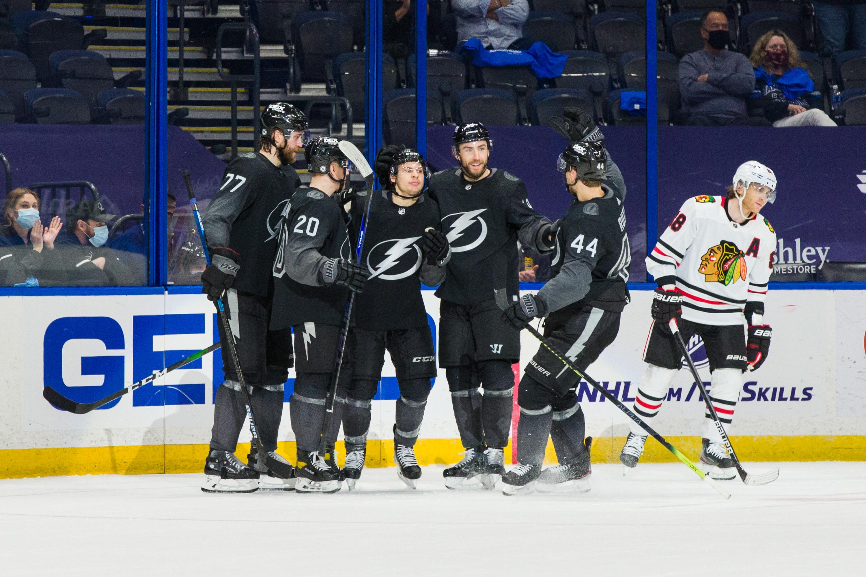 Chicago Blackhawks v Tampa Bay Lightning