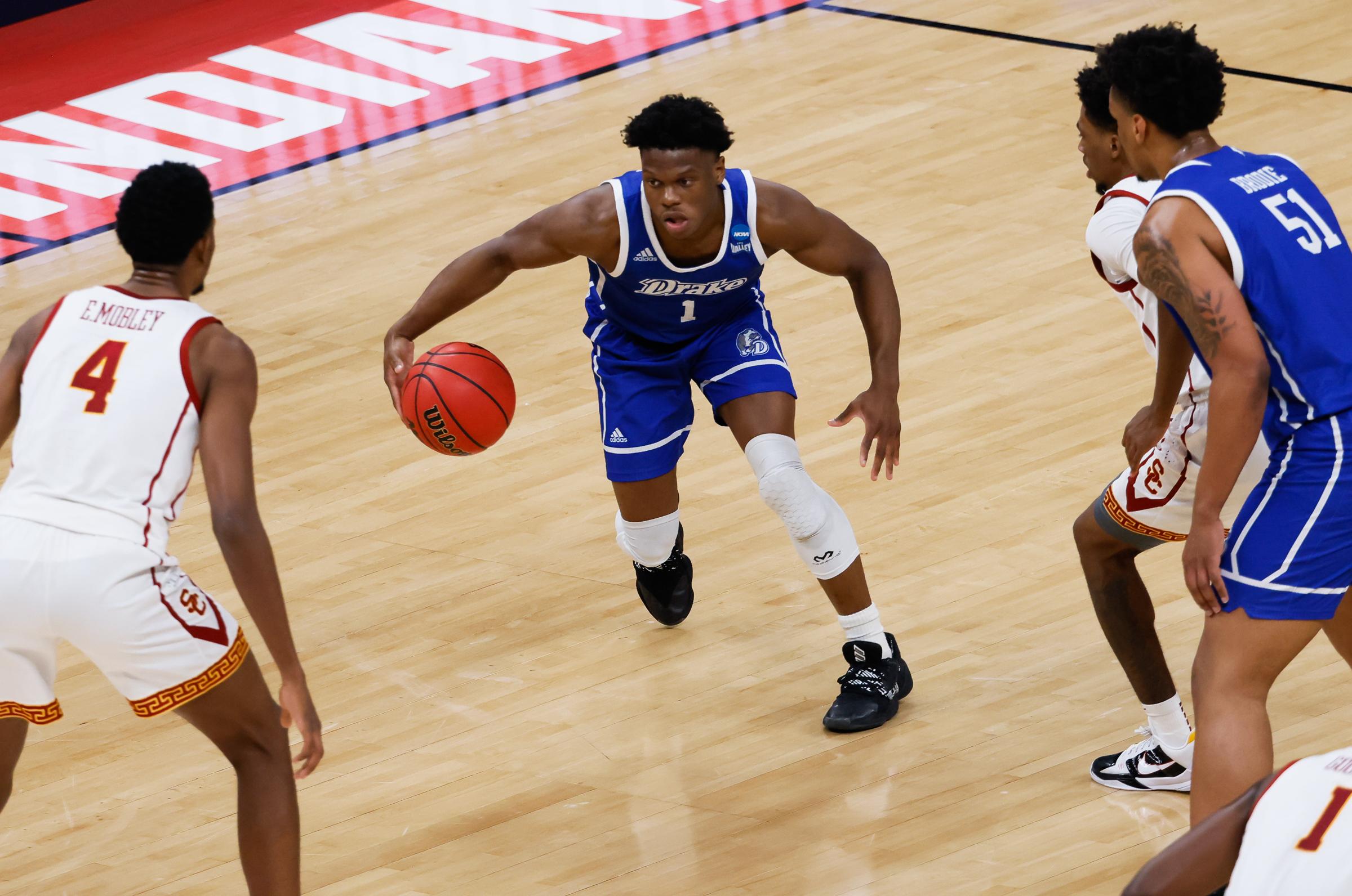 NCAA Basketball: Drake at Southern California
