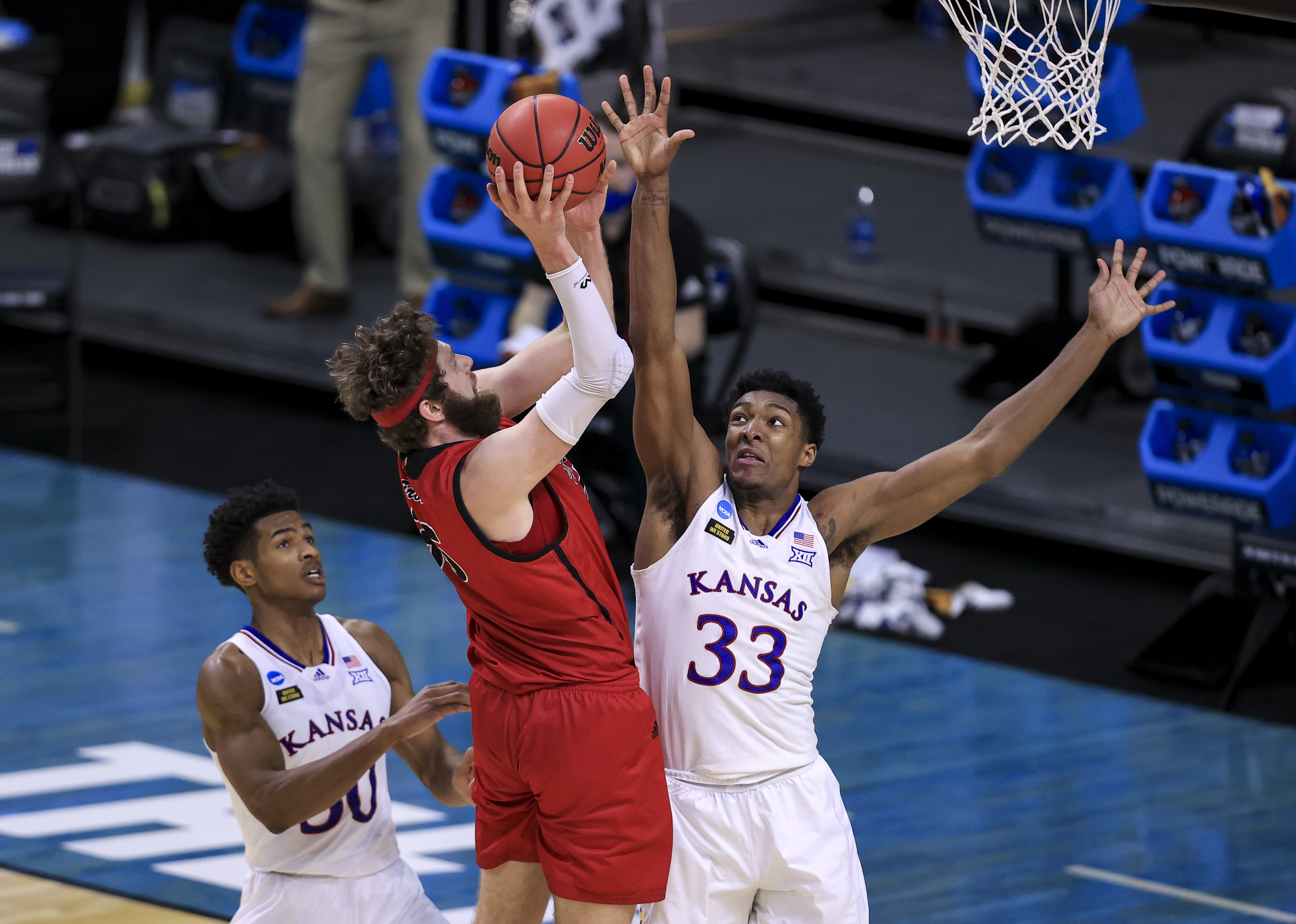 NCAA Basketball: NCAA Tournament-Eastern Washington at Kansas