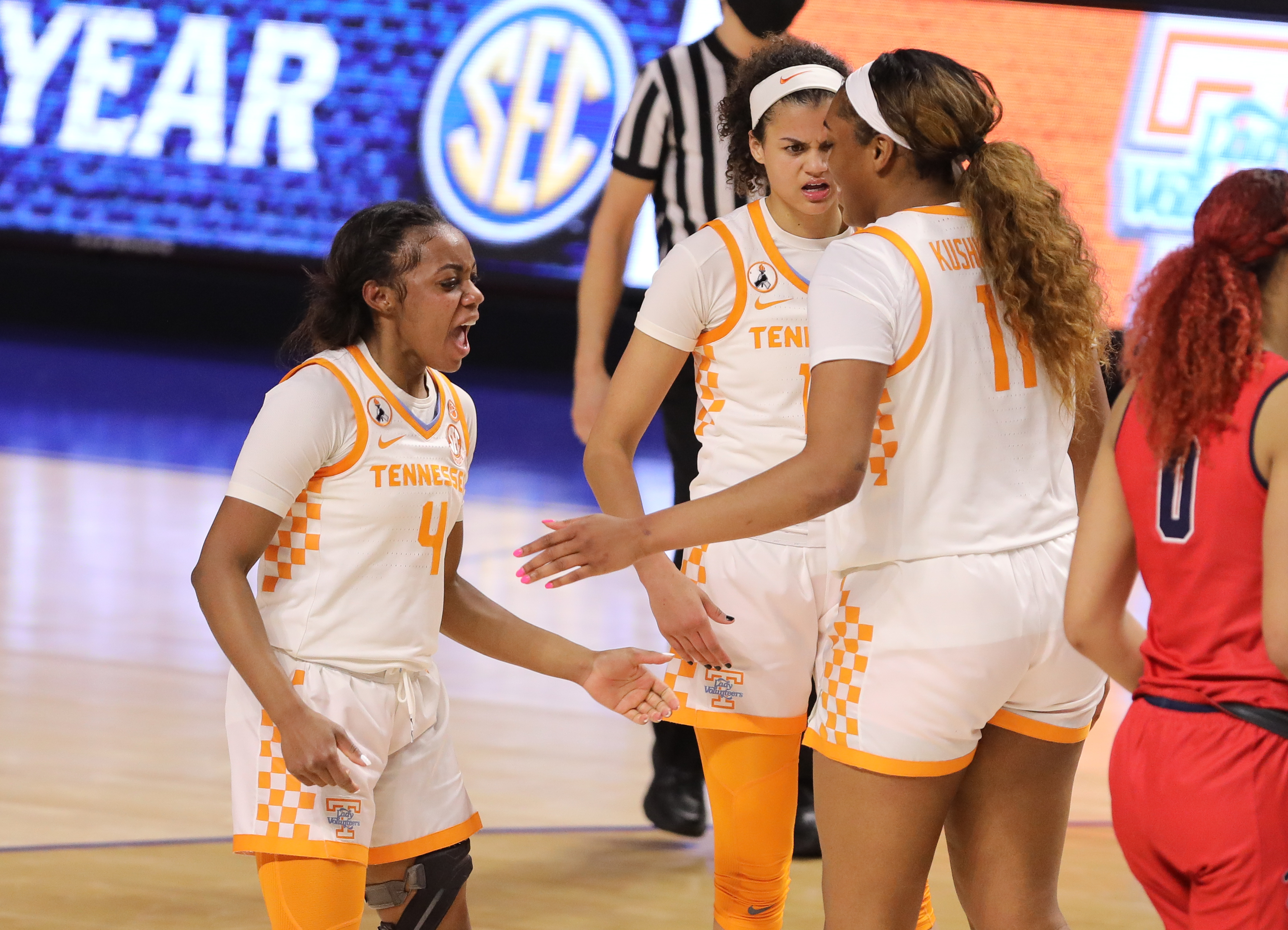 NCAA Womens Basketball: SEC Conference Tournament- Tennessee vs Ole Miss