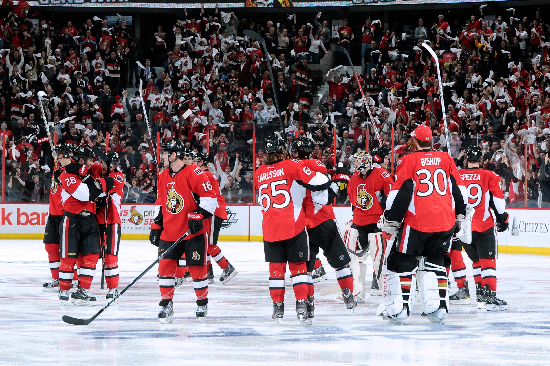 New York Rangers v Ottawa Senators - Game Four