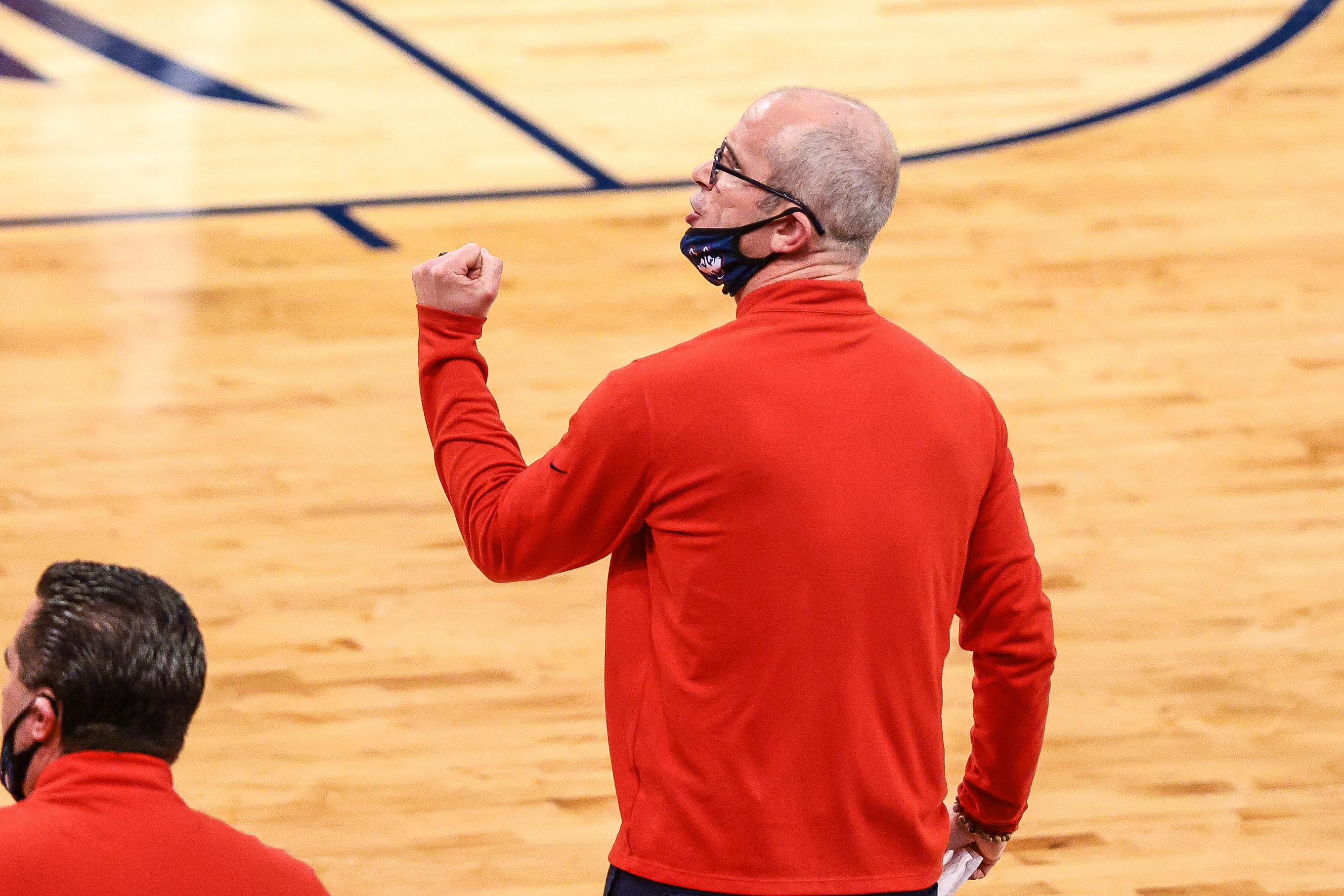 NCAA Basketball: Big East Conference Tournament-Connecticut vs DePaul
