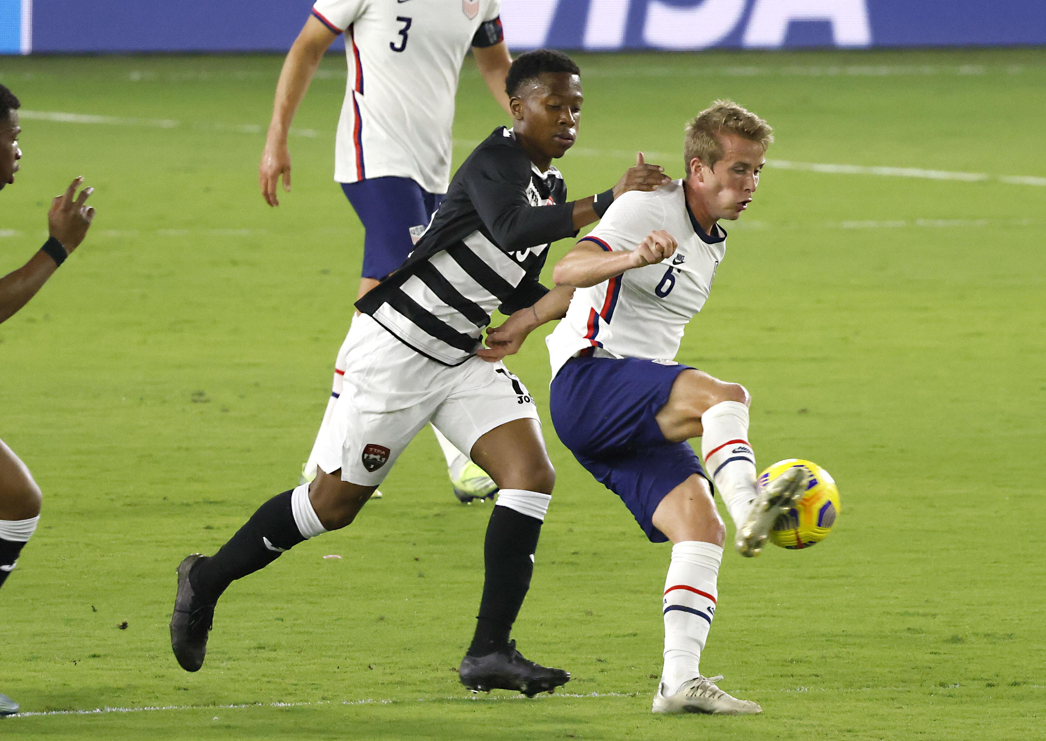 Soccer: International Friendly Soccer-Trinidad & Tobago at USA