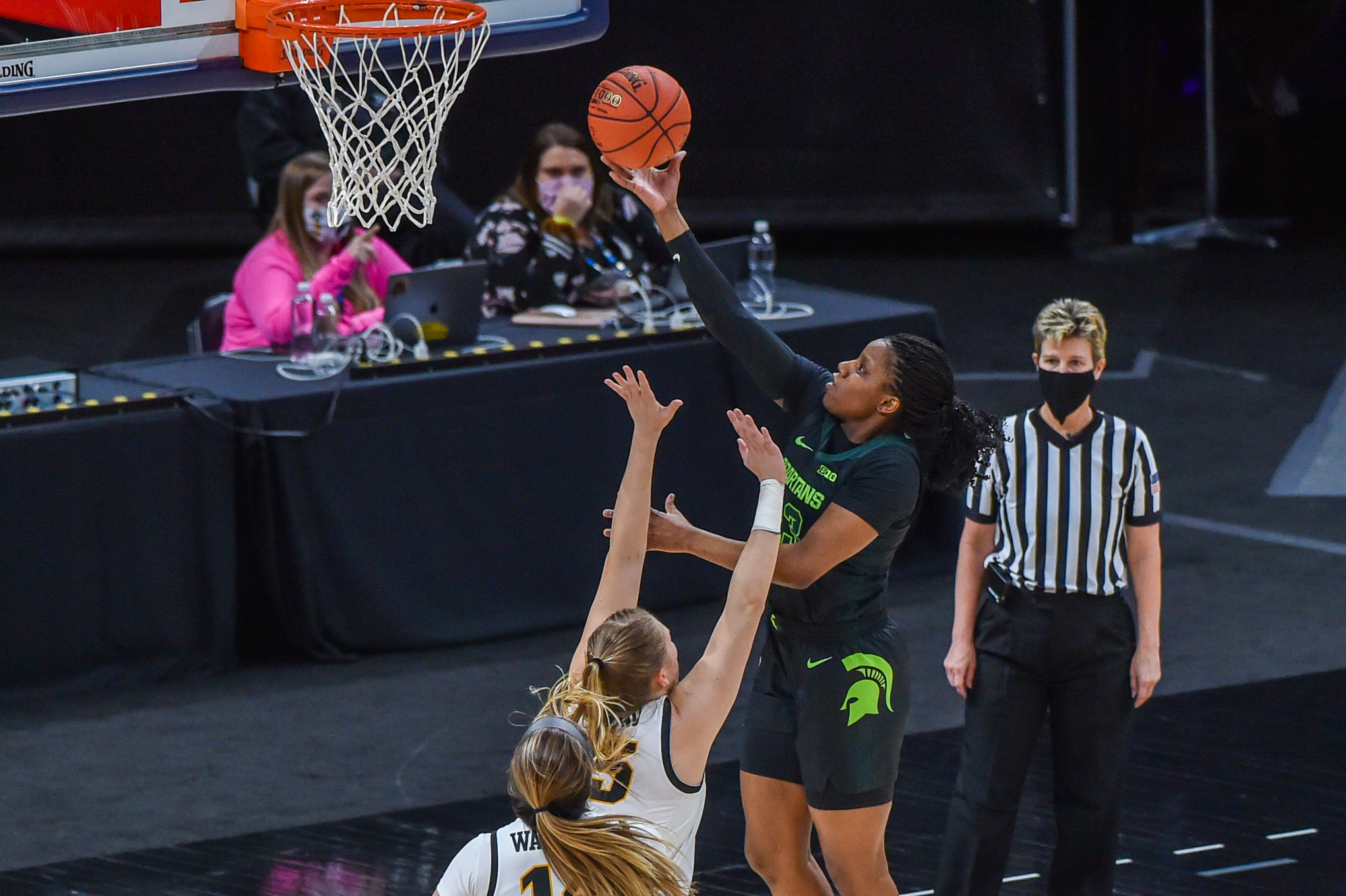 Iowa v Michigan State - Big Ten Women's Basketball Tournament - Semifinals