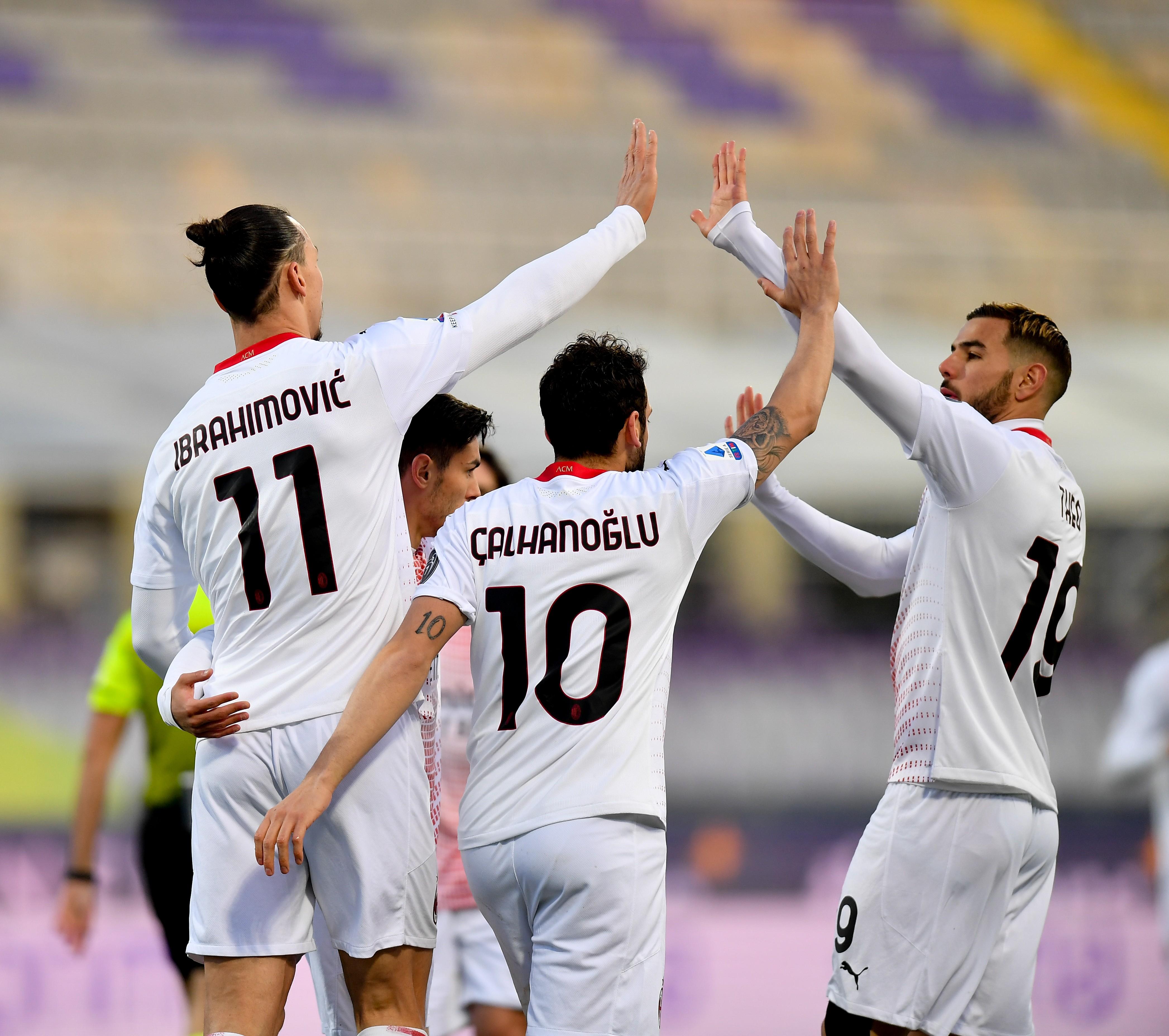 ITALY-FLORENCE-FOOTBALL-SERIE A-FIORENTINA VS AC MILAN
