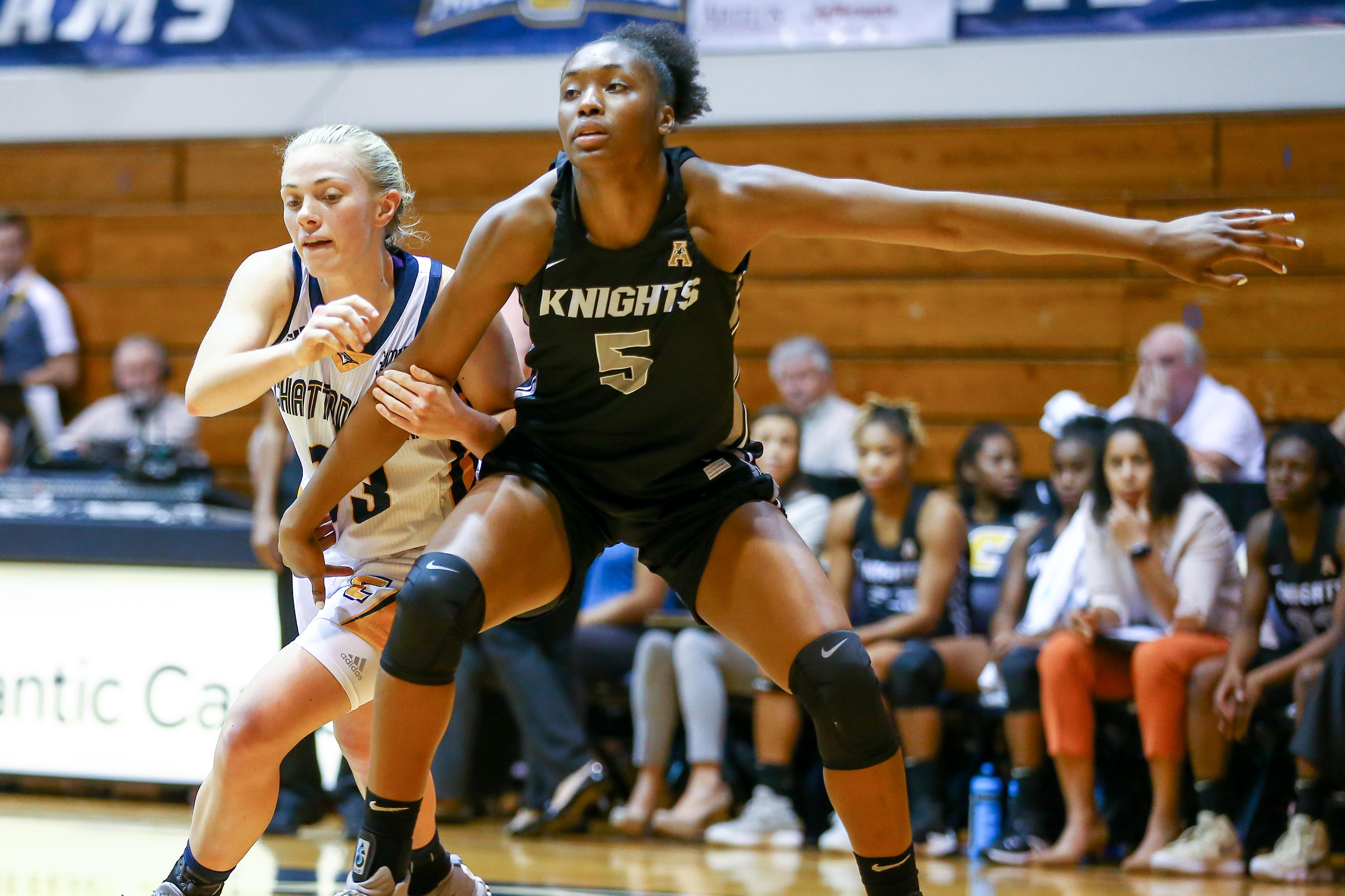 COLLEGE BASKETBALL: NOV 13 Women's - UCF at UT-Chattanooga