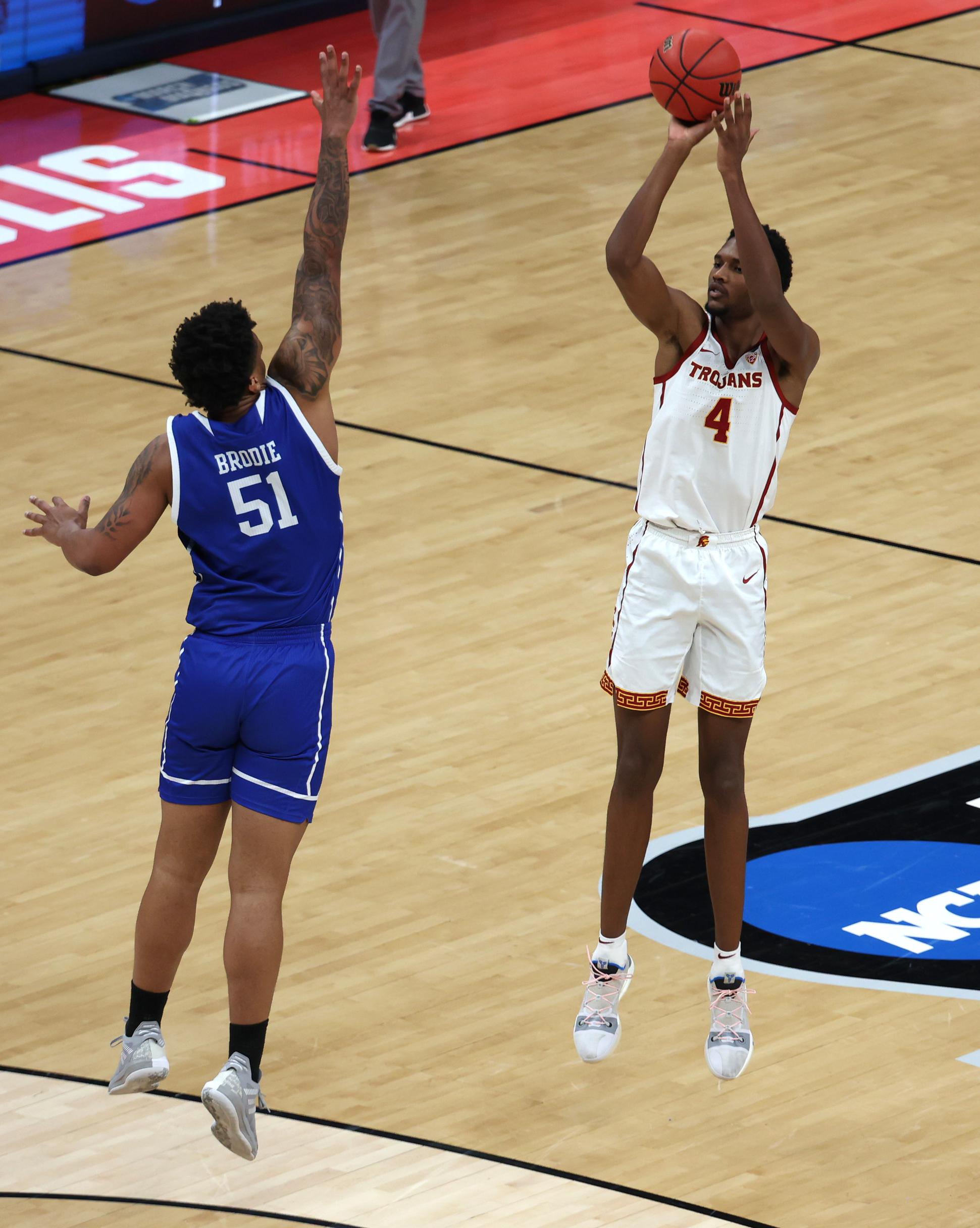 NCAA Basketball: NCAA Basketball-Drake at Southern California