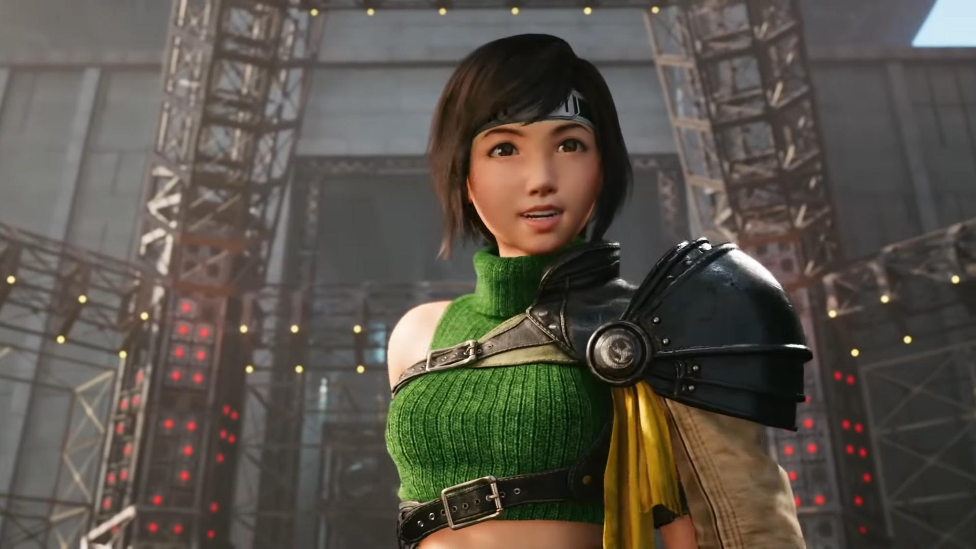 Yuffie in Final Fantasy 7: Remake Intergrade