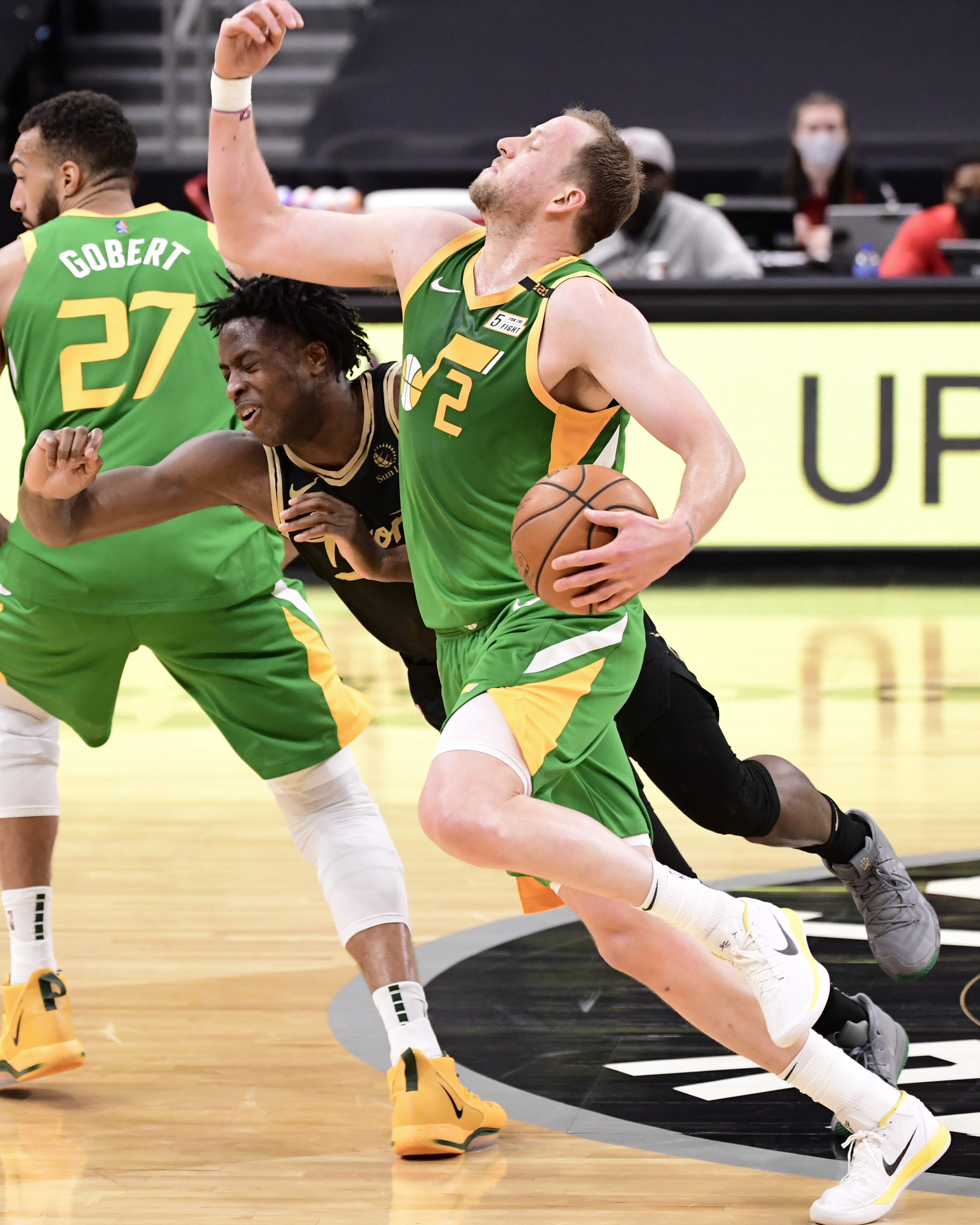 Utah Jazz v Toronto Raptors