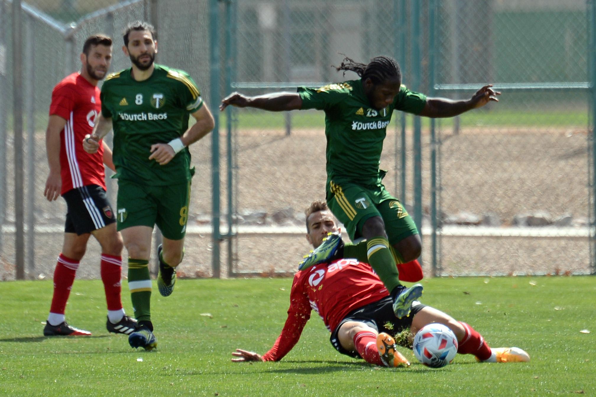 MLS: Phoenix Rising vs Portland Timbers