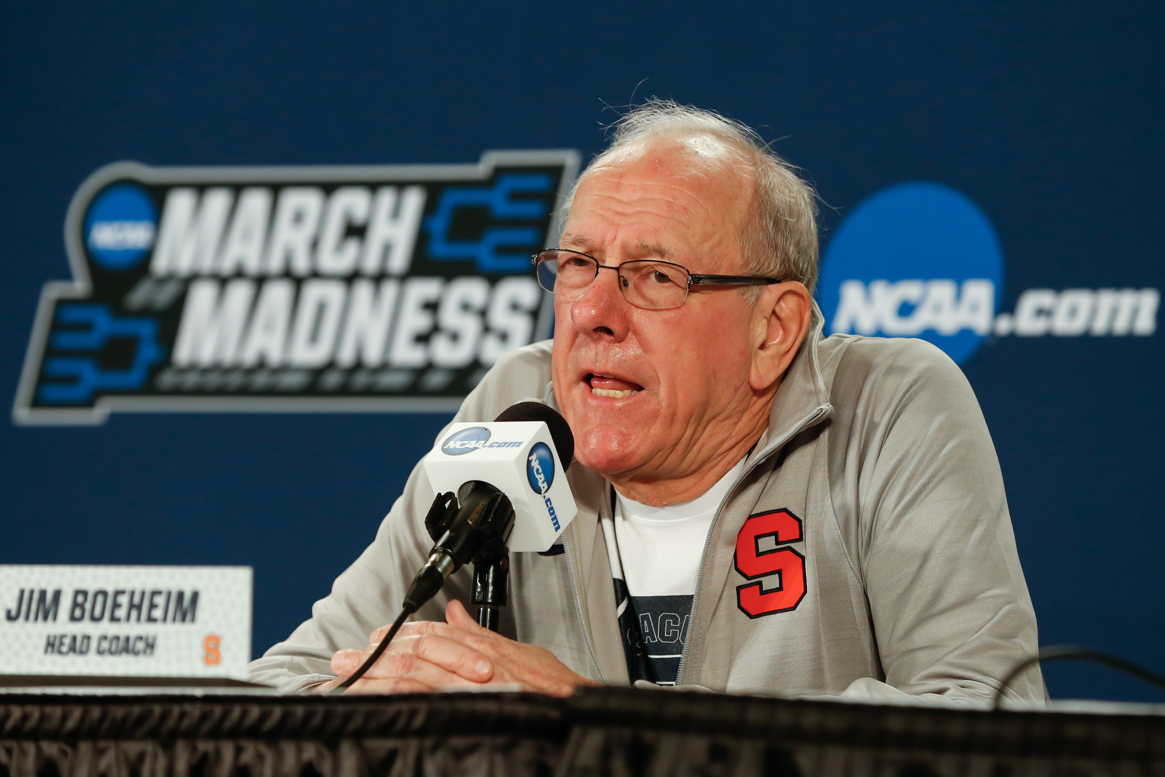NCAA BASKETBALL: MAR 15 Div I Men's Championship - Syracuse Press Conference