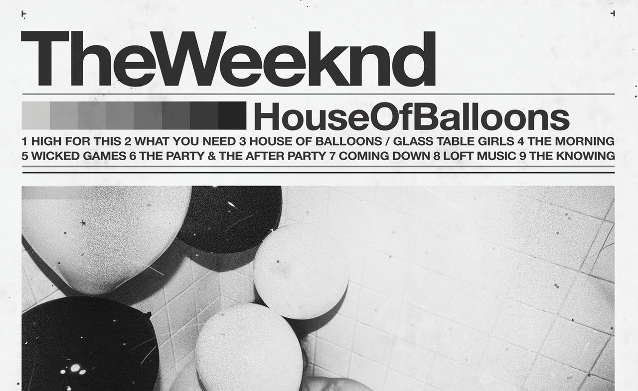 The Weeknd's 'House of Balloons' artwork