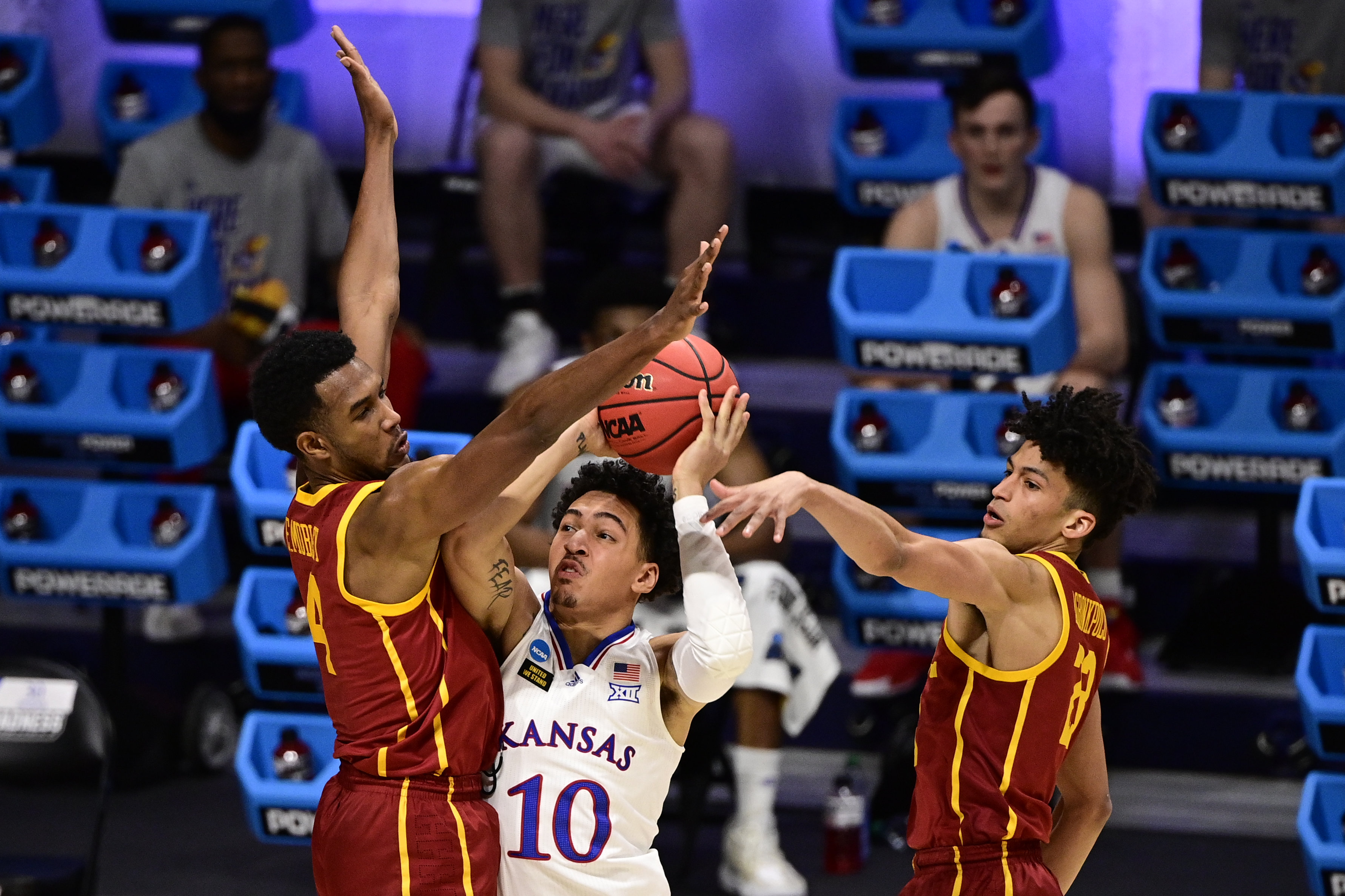 NCAA Basketball: NCAA Tournament-Southern California at Kansas