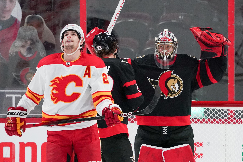 Calgary Flames v Ottawa Senators