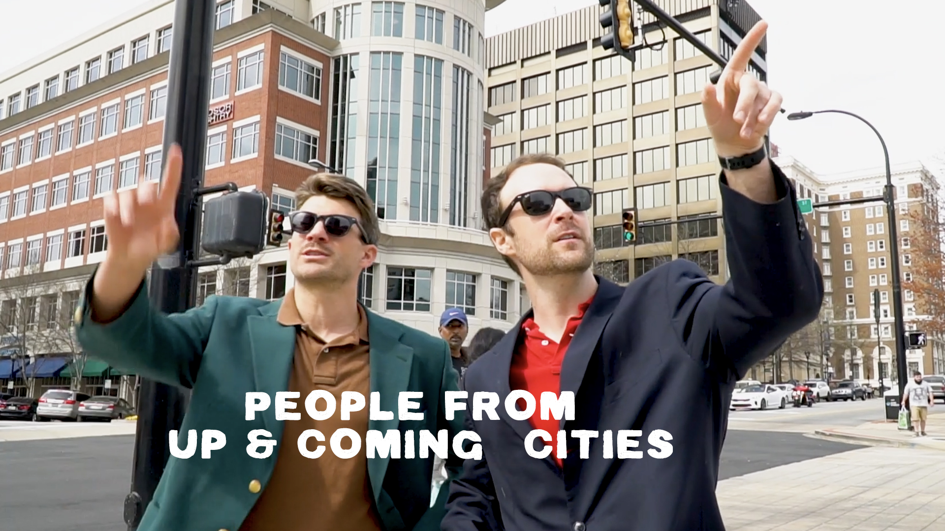 Joey and Sean show you the up and coming city