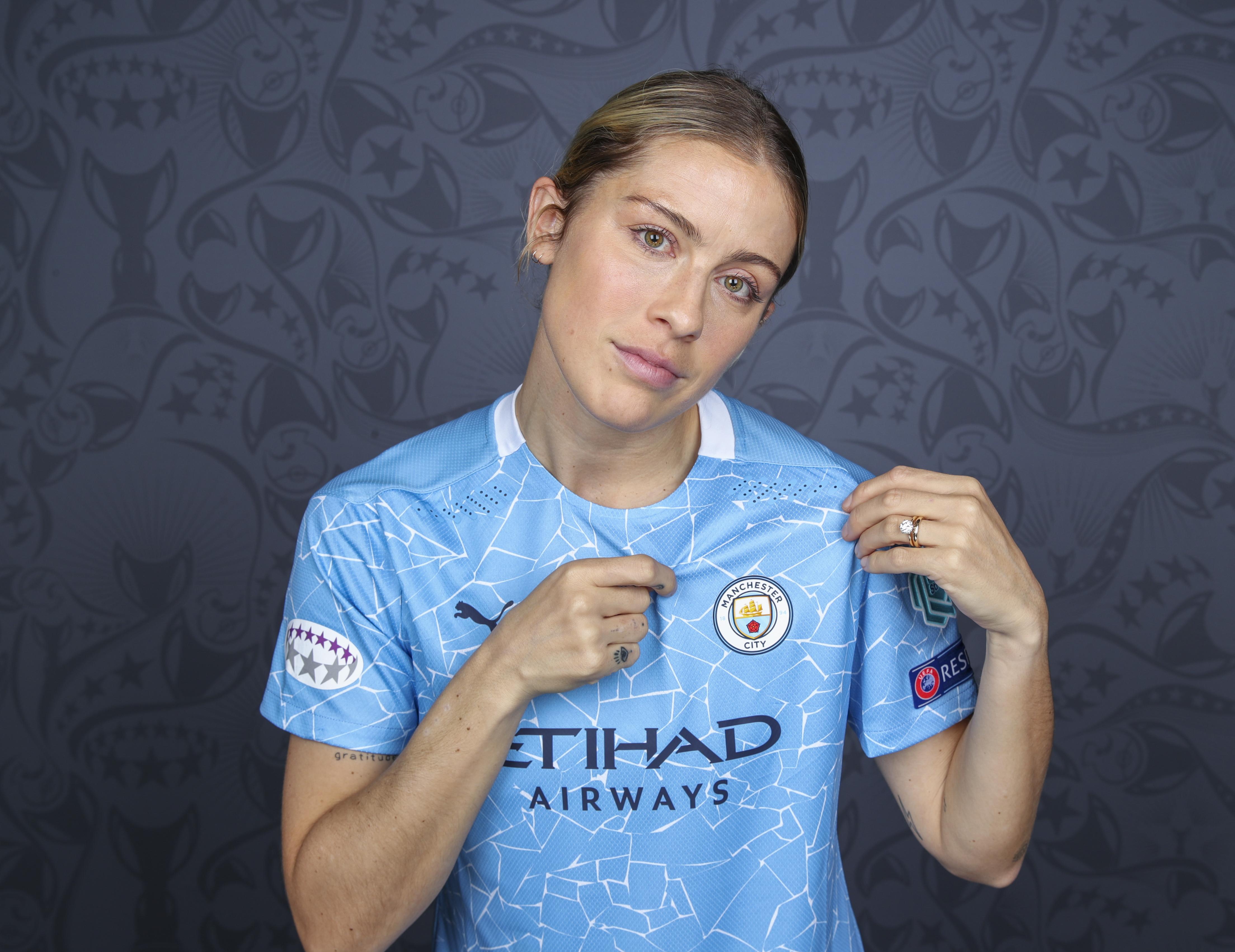 Manchester City: UEFA Women's Champions League Portraits