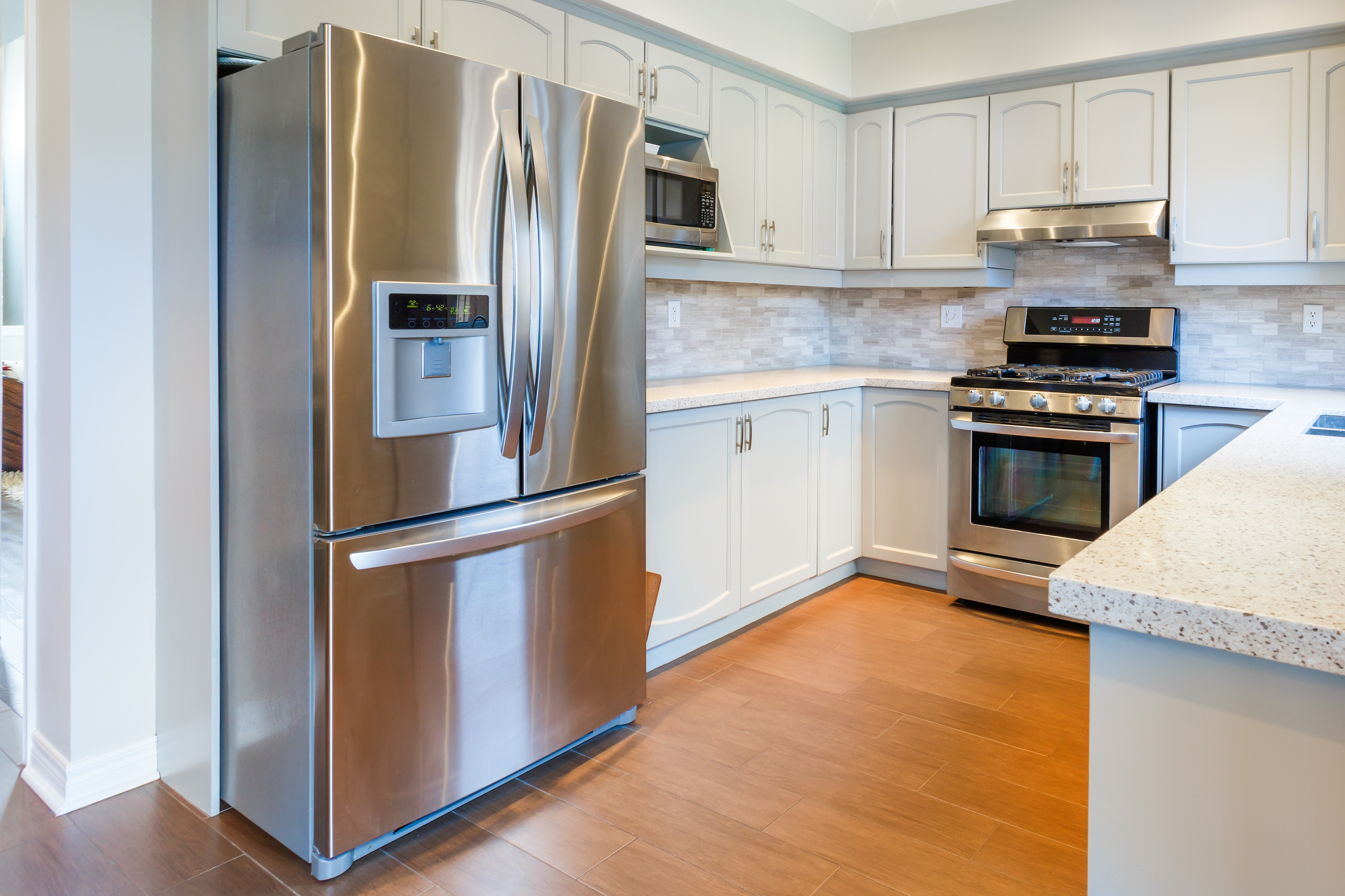 Refrigerator in home kitchen stops cooling.