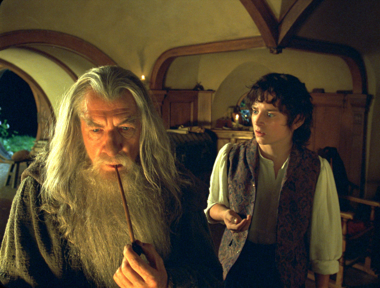 Gandalf and Frodo.