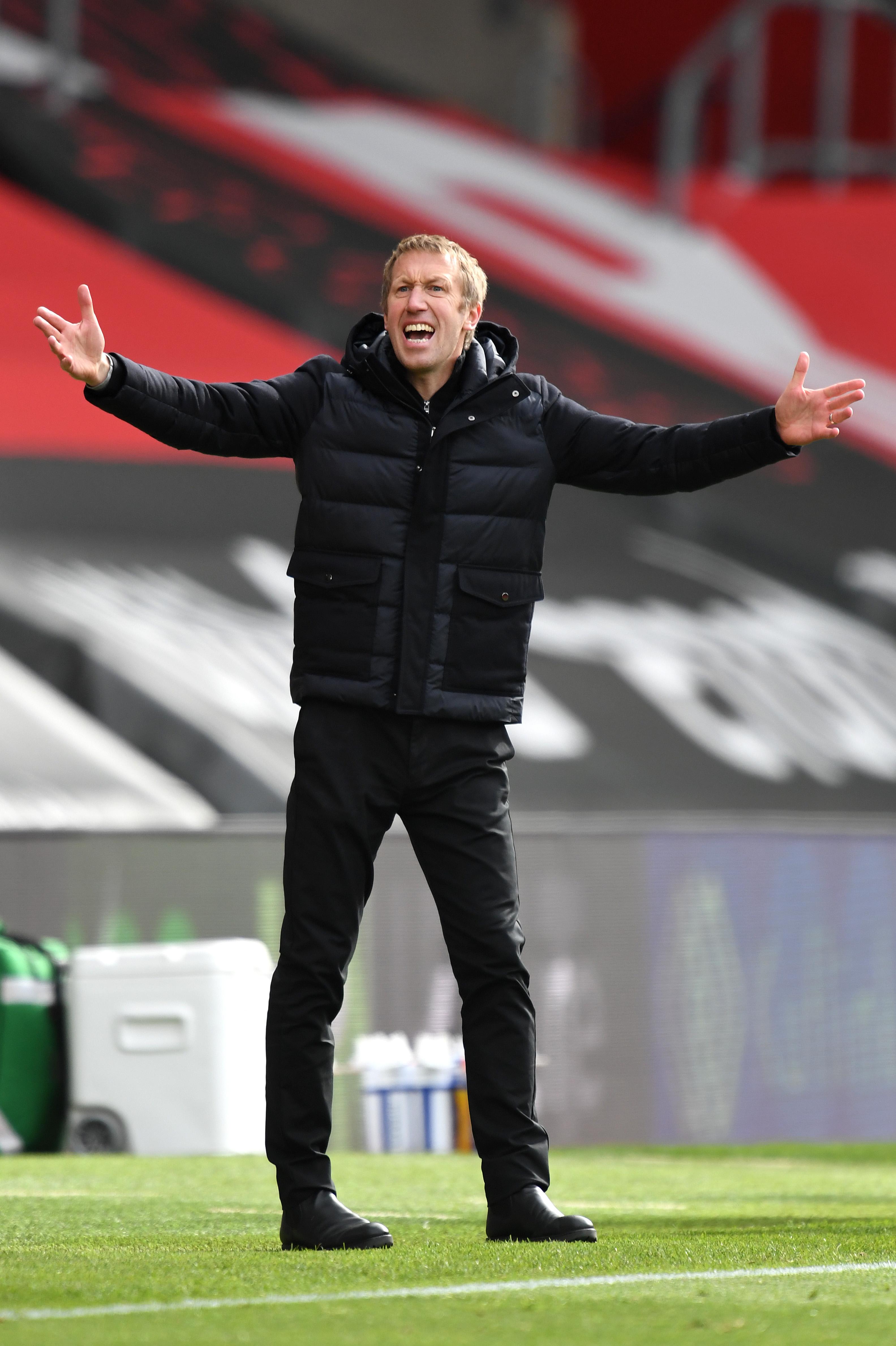 Graham Potter - Brighton & Hove Albion - Premier League