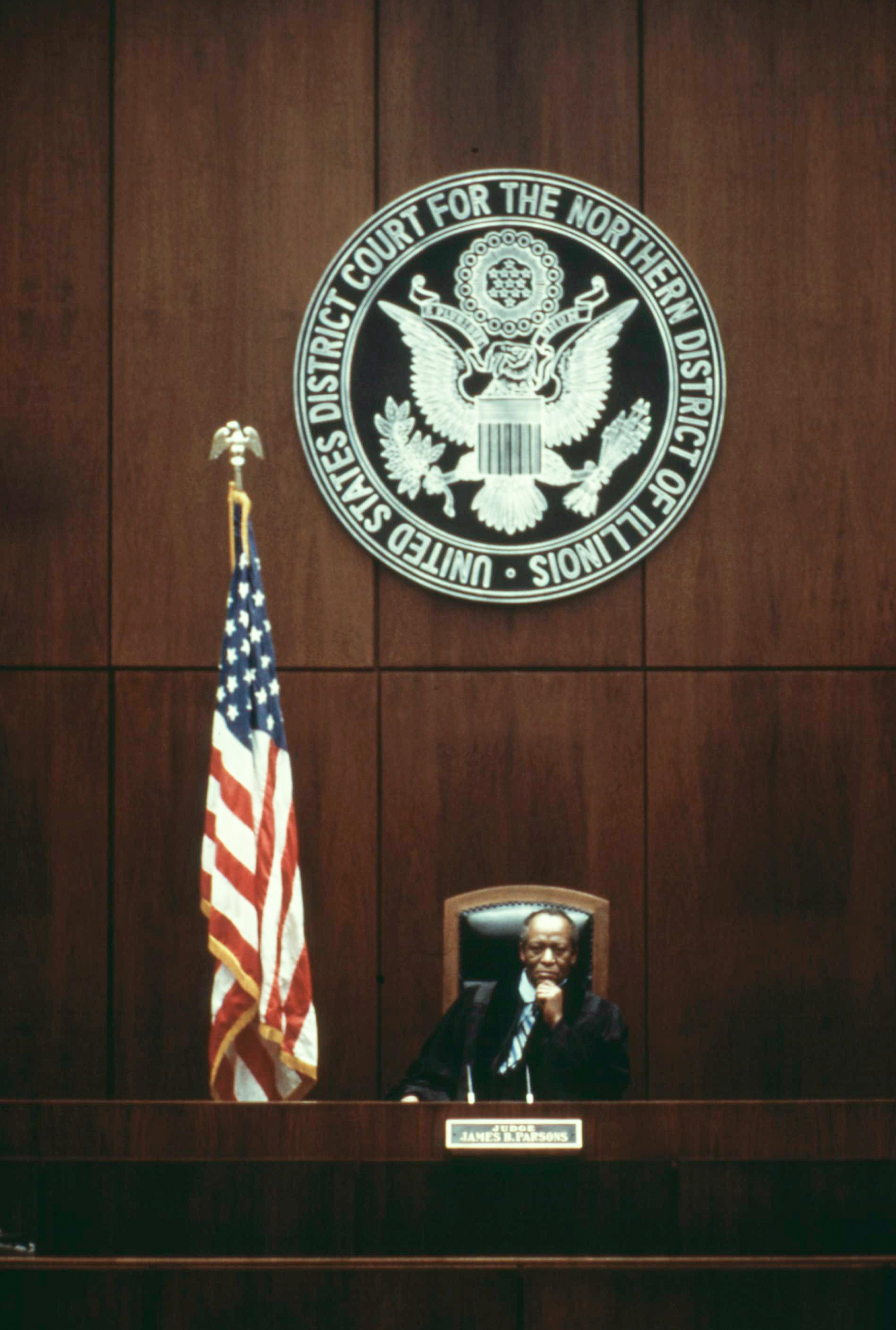 Judge James B. Parsons