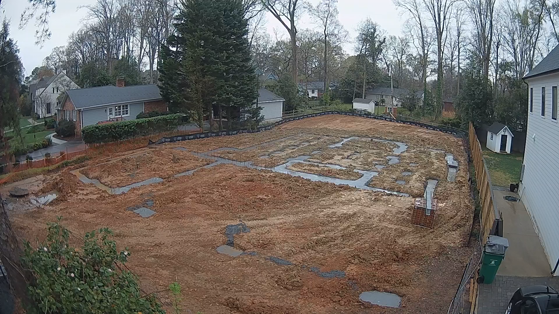 2022 Modern Tudor Idea House exterior webcam
