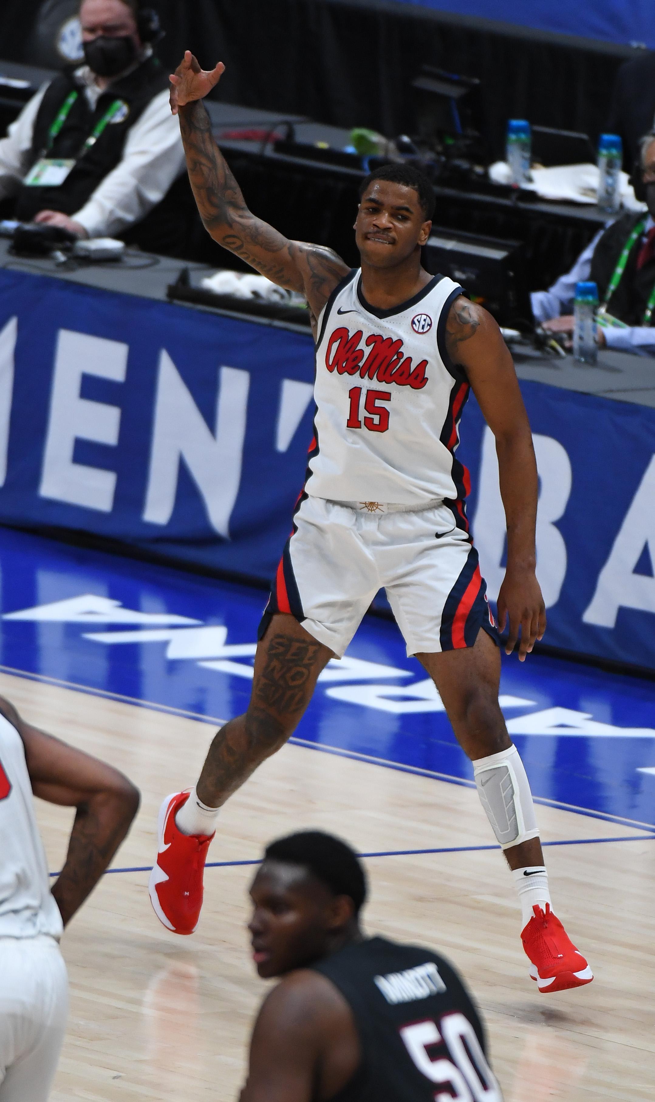 NCAA Basketball: SEC Conference Tournament-South Carolina vs Mississippi