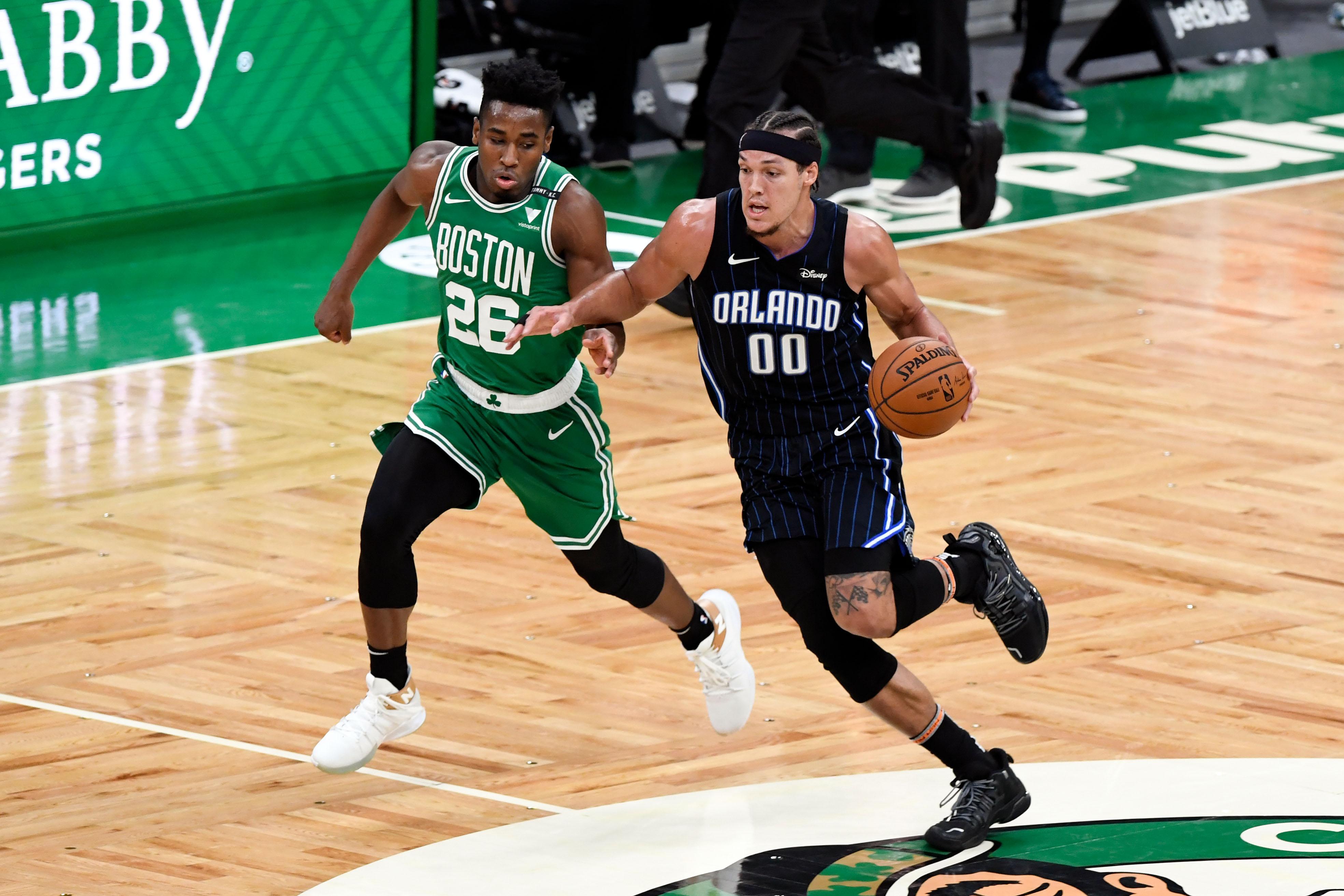 NBA: Orlando Magic at Boston Celtics