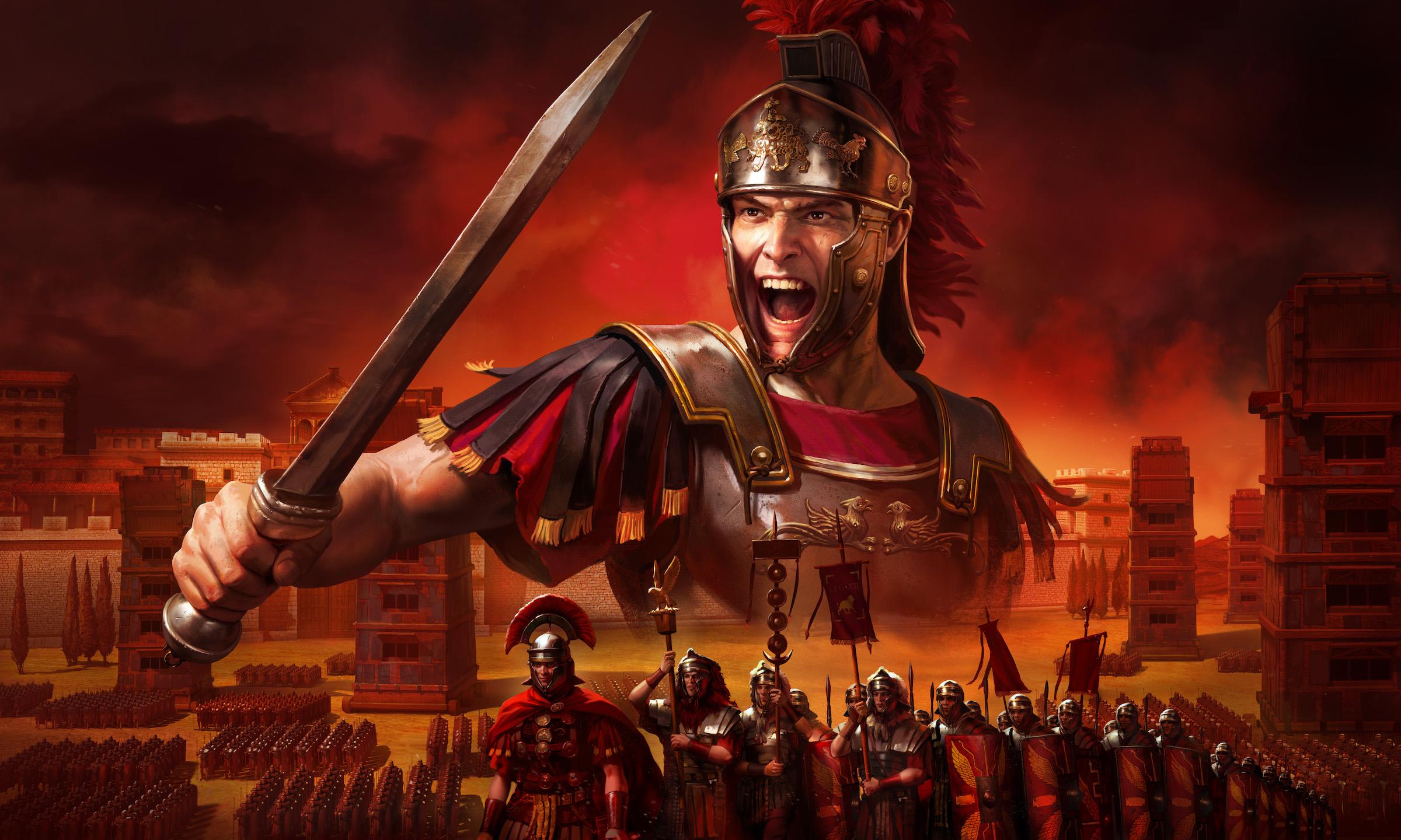 Artwork from Total War: Rome