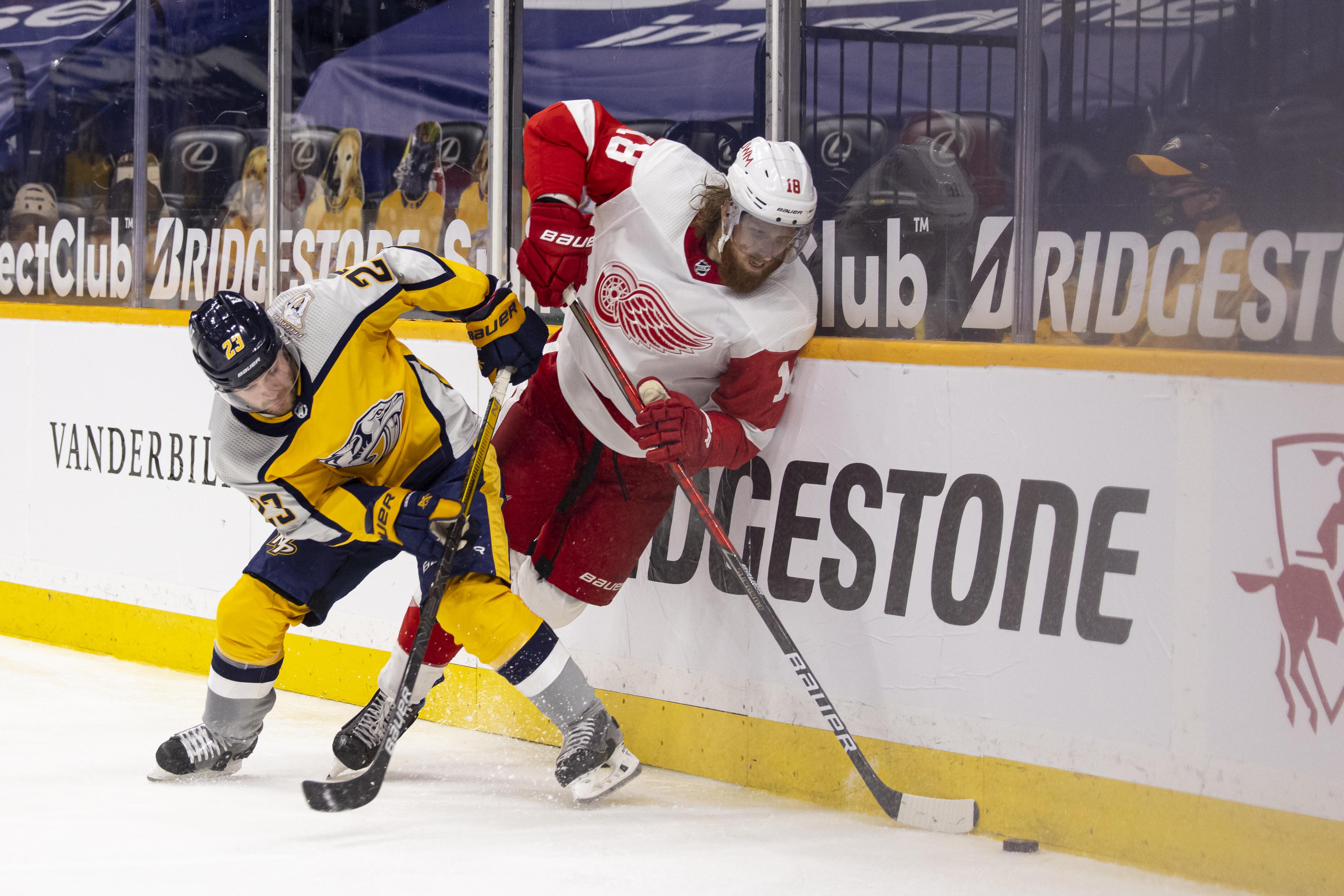 Detroit Red Wings v Nashville Predators