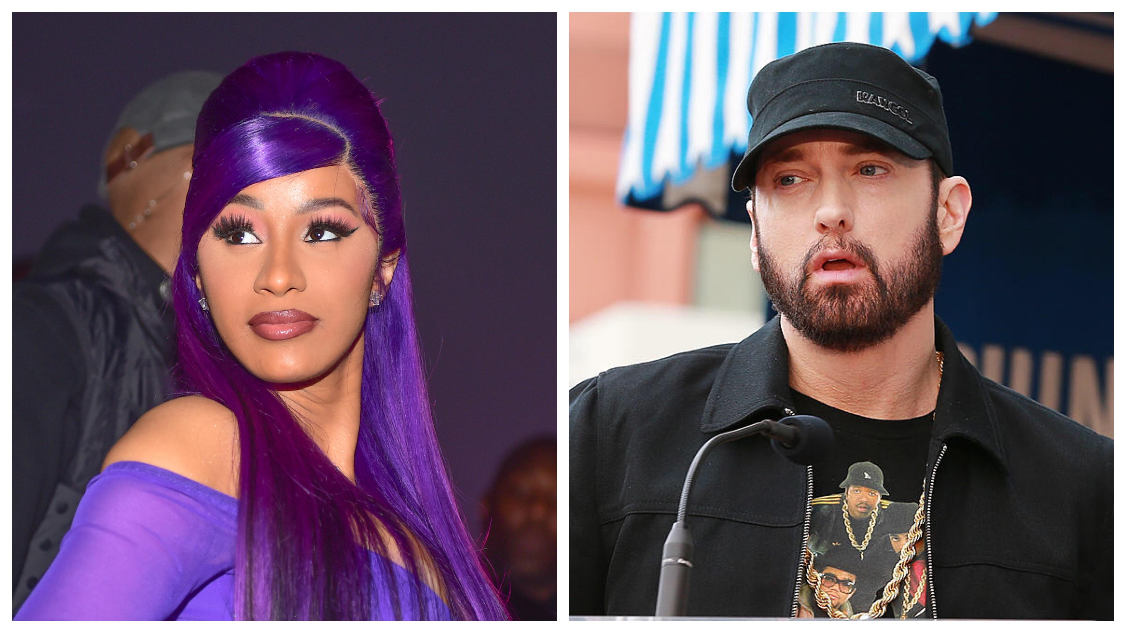 Cardi B and Eminem