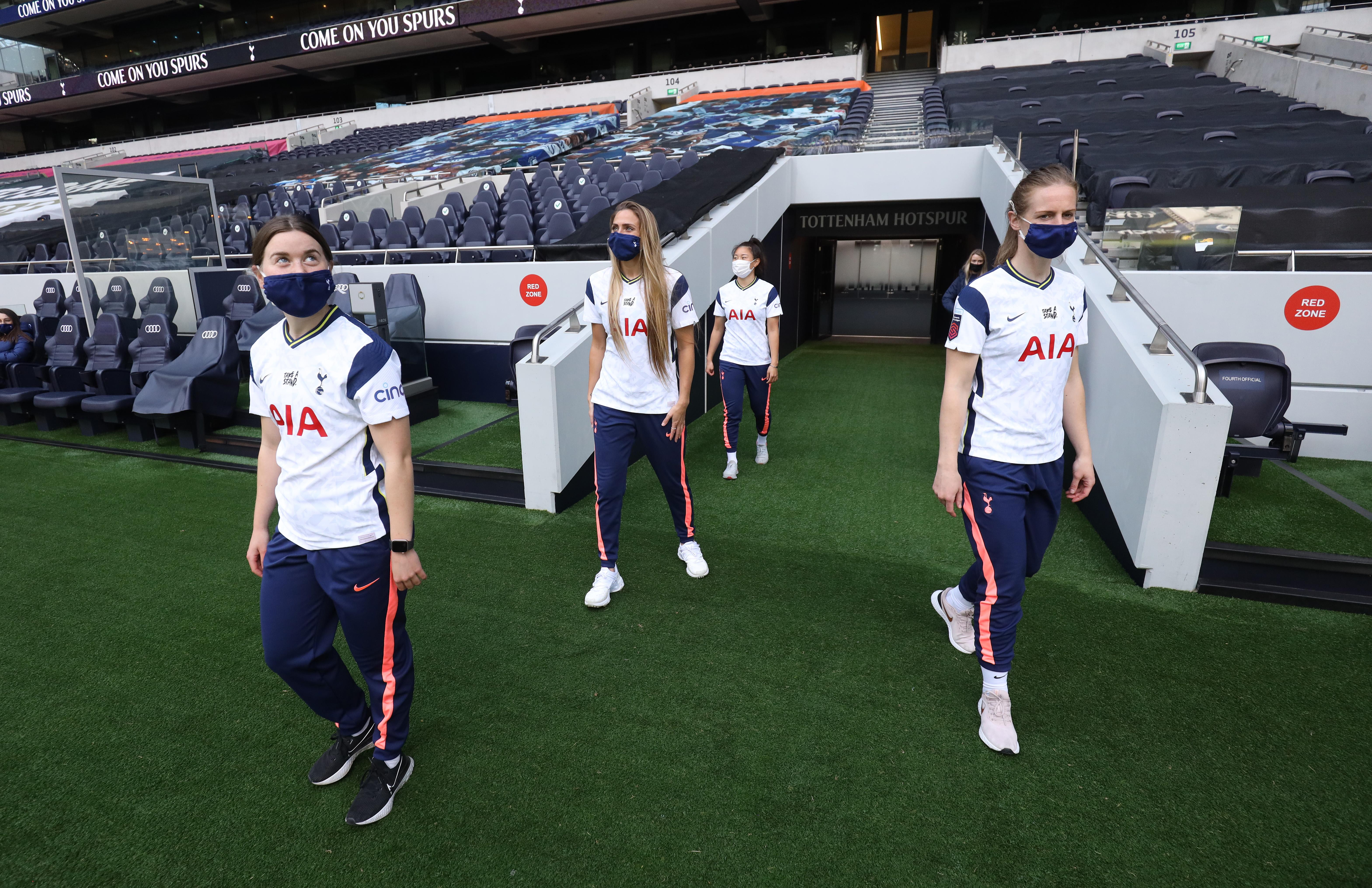 Tottenham Hotspur Women Visit Tottenham Hotspur Stadium