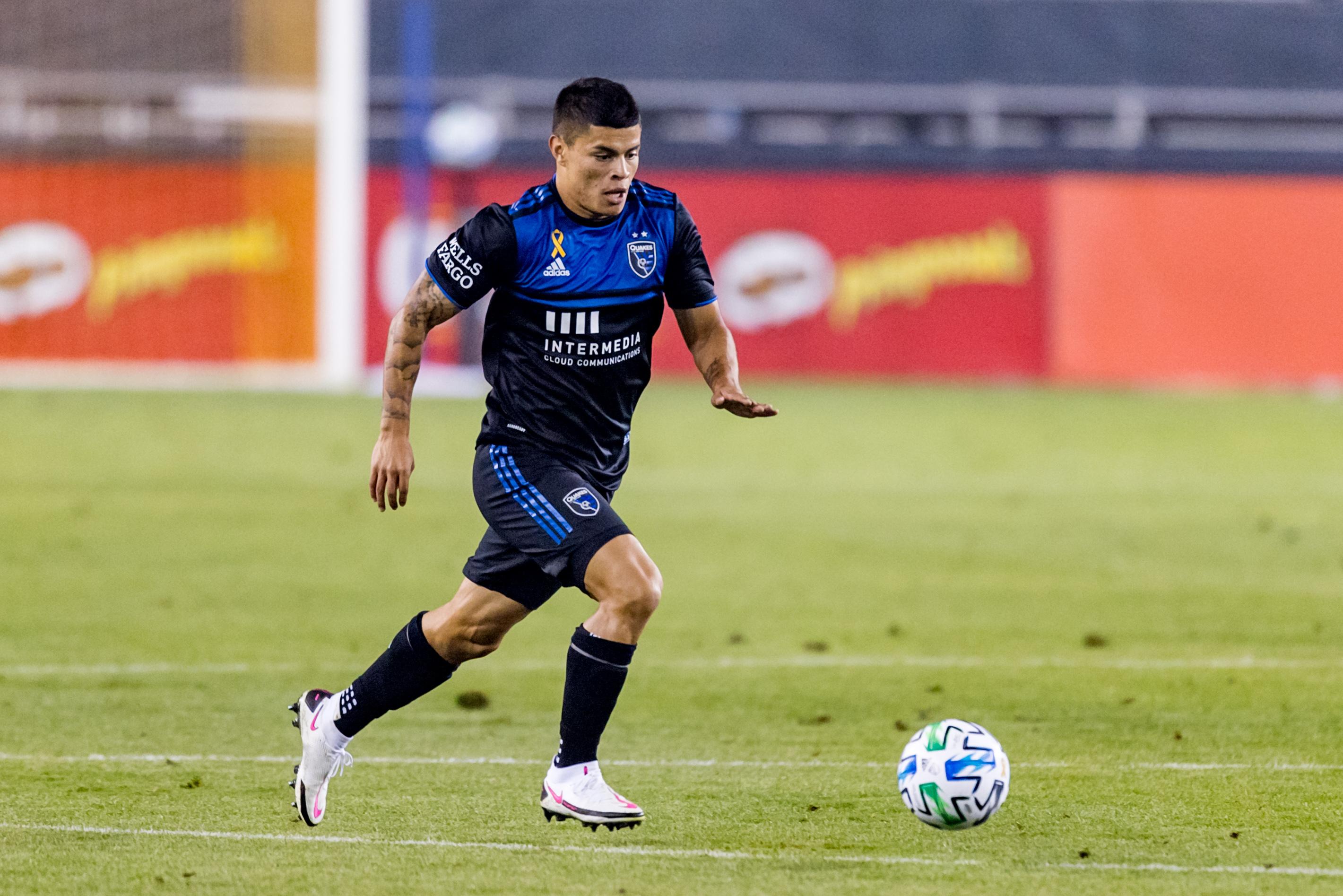 SOCCER: SEP 13 MLS Los Angeles Galaxy at San Jose Earthquakes