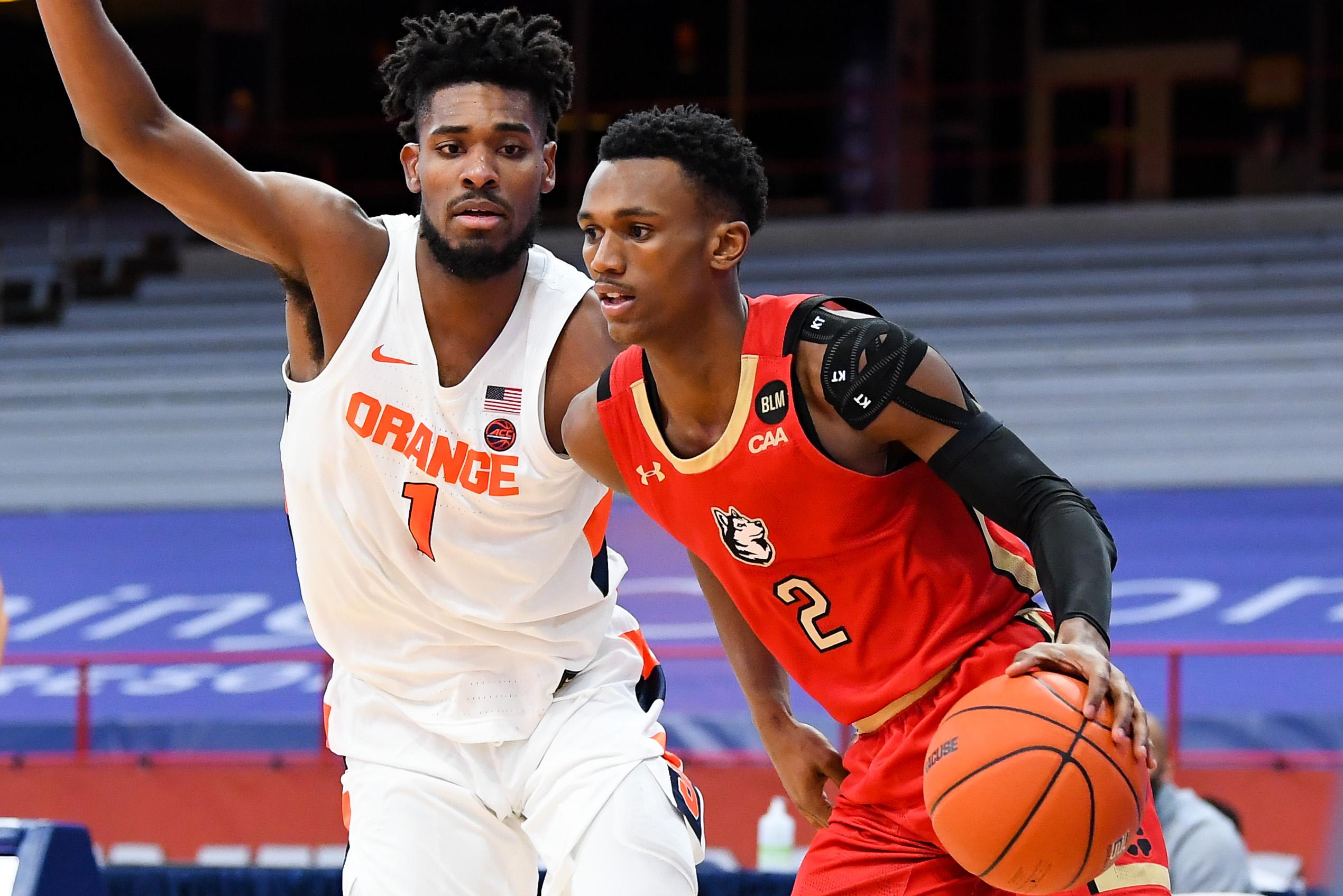 NCAA Basketball: Northeastern at Syracuse