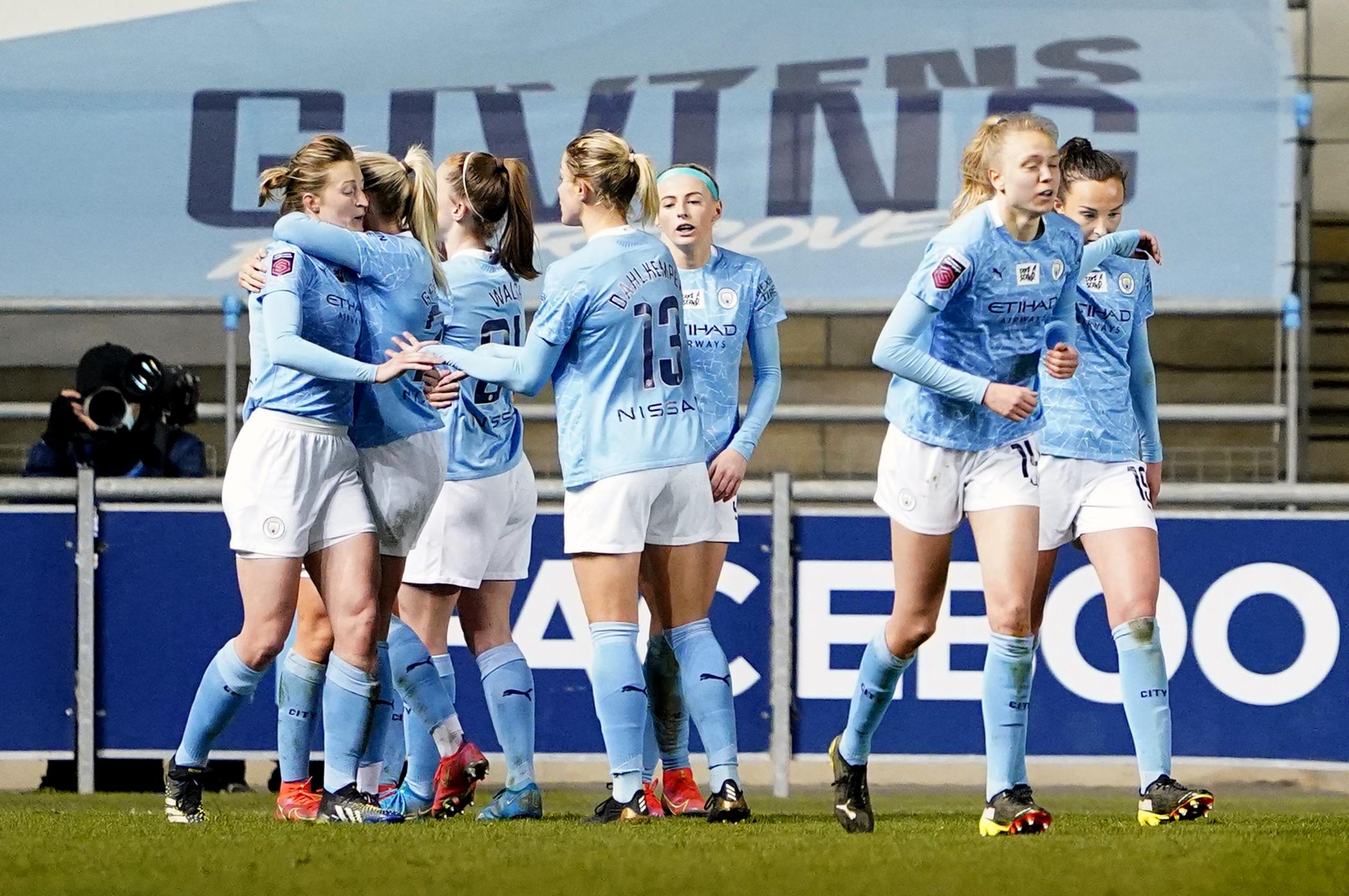 Manchester City v Reading - FA Women's Super League - Academy Stadium