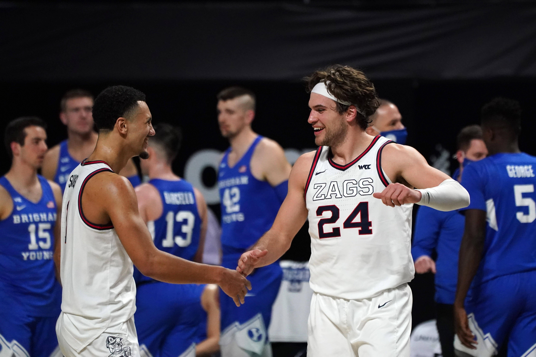 NCAA Basketball-WCC Tournament-BYU vs Gonzaga