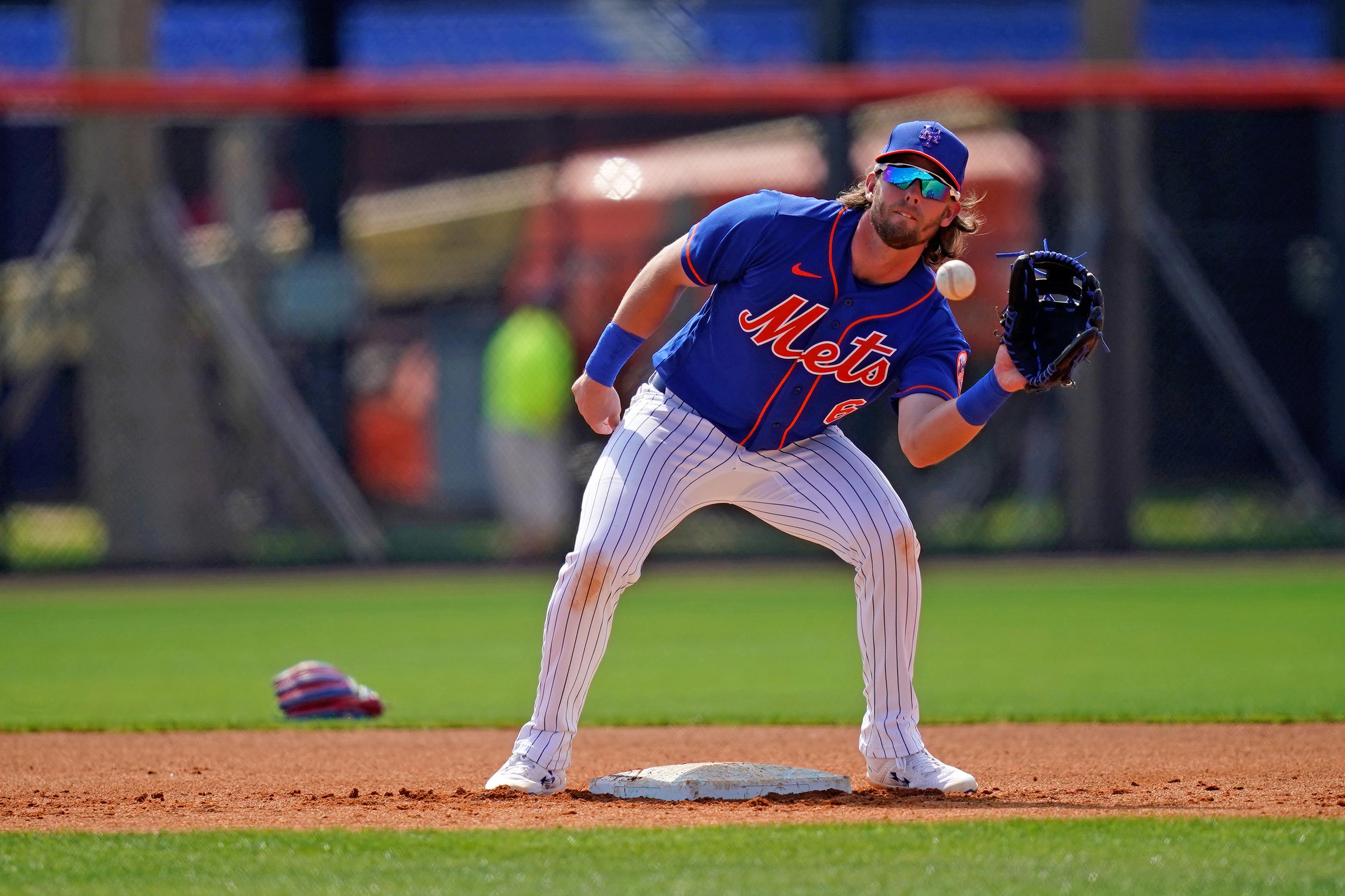 MLB: New York Mets-Workouts