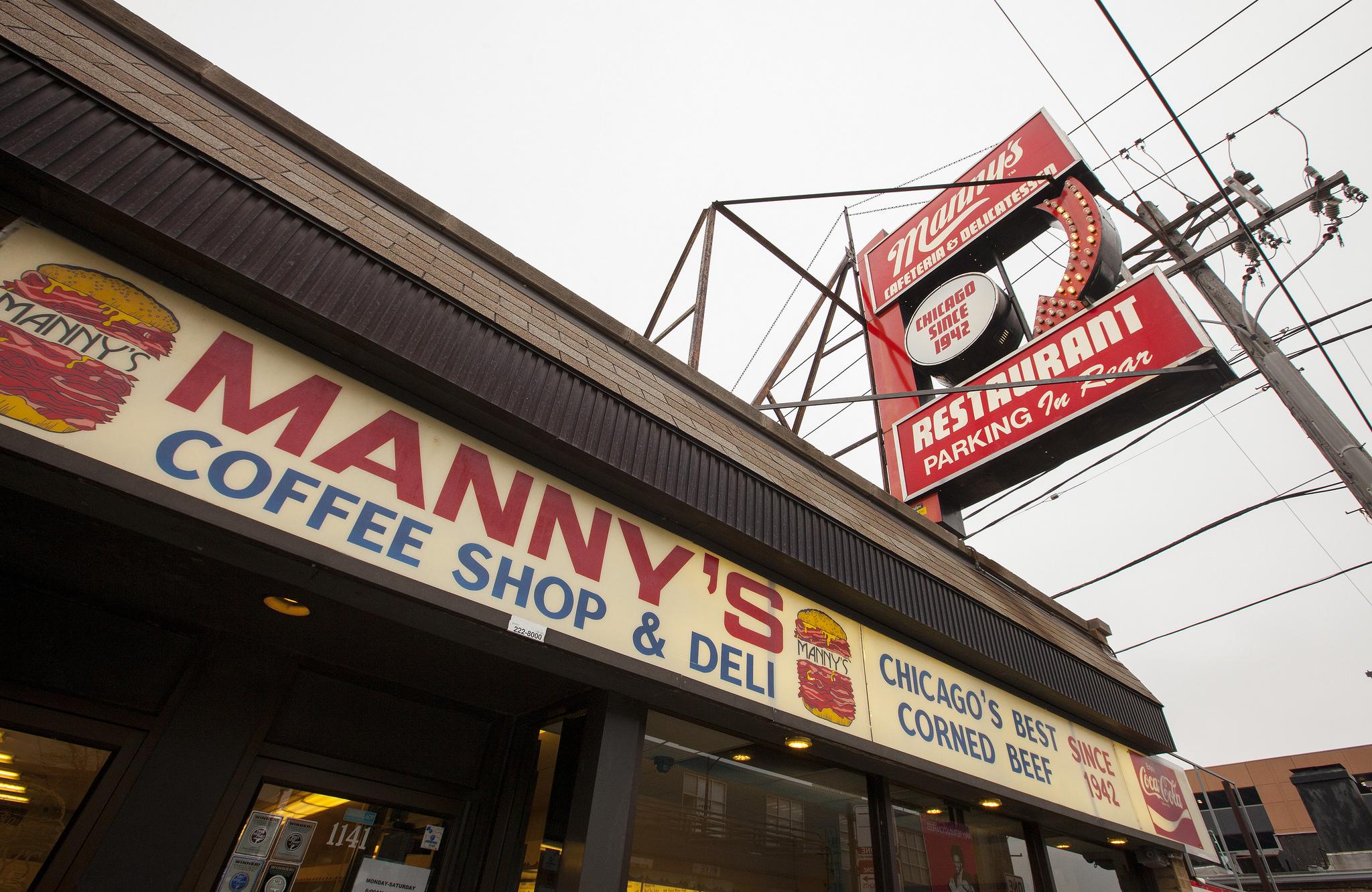 Manny's Deli Eater Scenes Classics Week