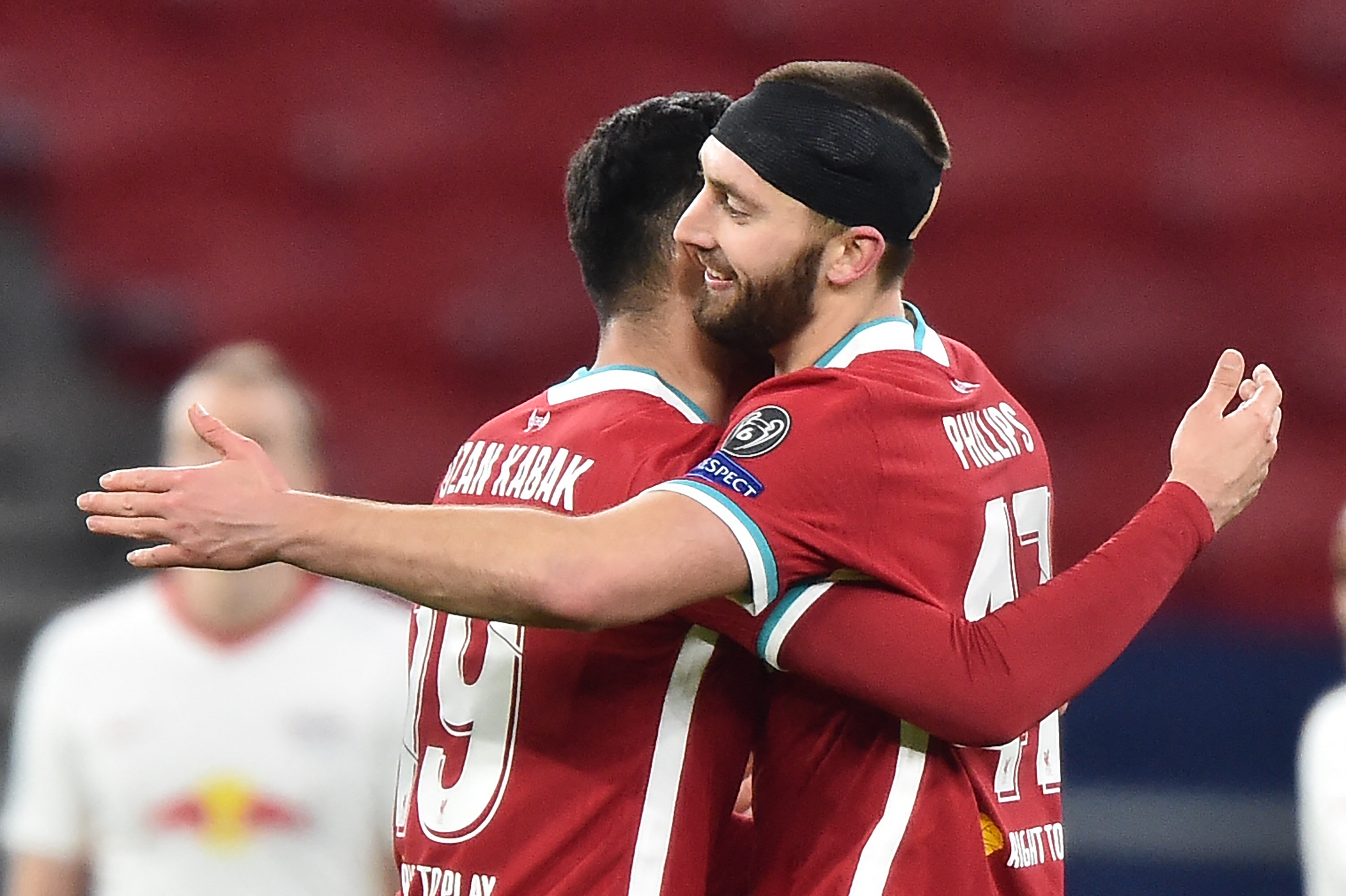 Ozan Kabak and Nathaniel Phillips - LIVERPOOL - Premier League