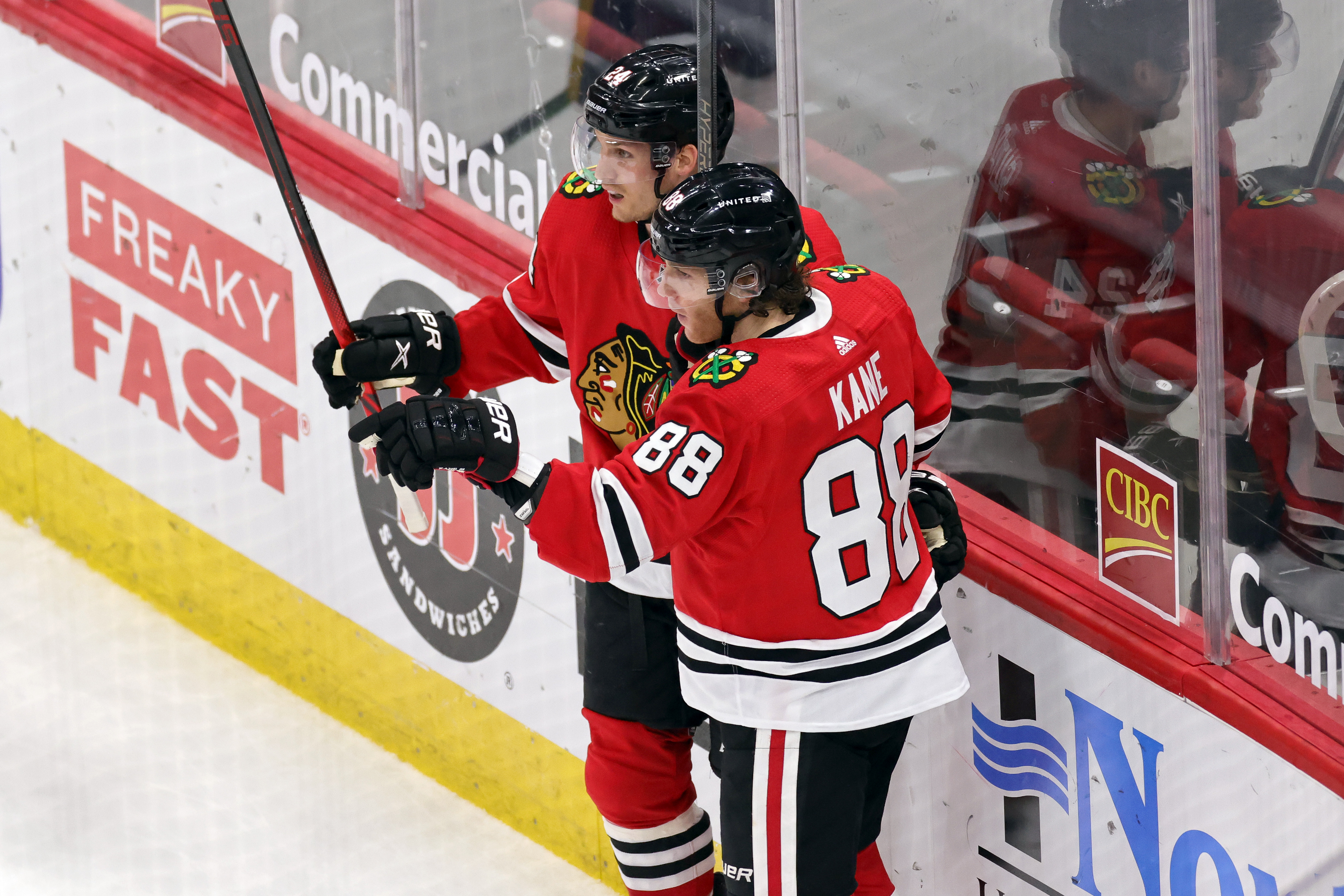 NHL: MAR 27 Predators at Blackhawks