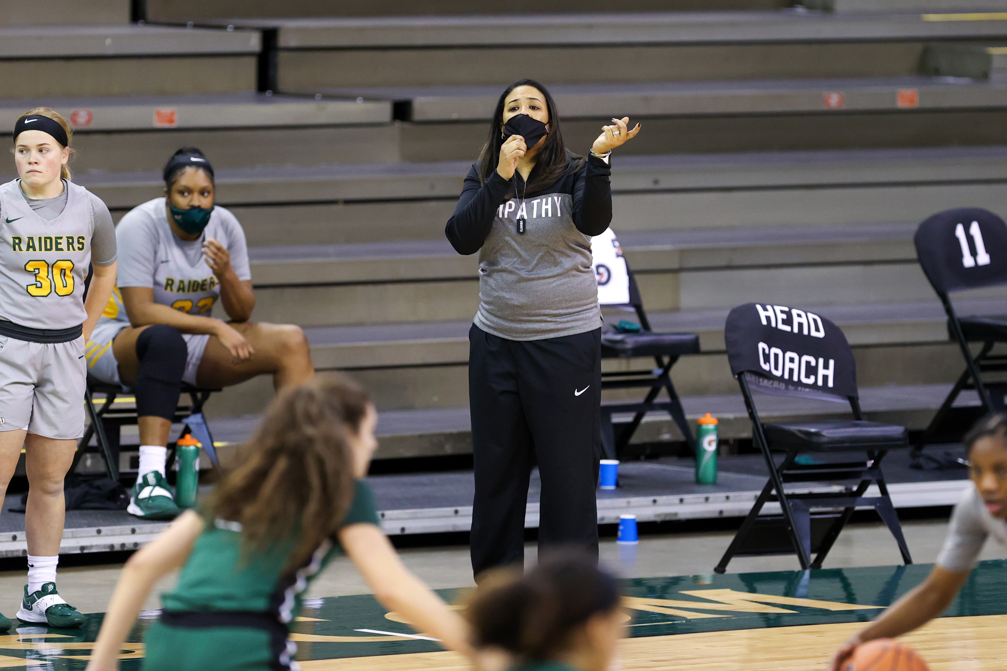 COLLEGE BASKETBALL: JAN 09 Women's Wright State at Cleveland State
