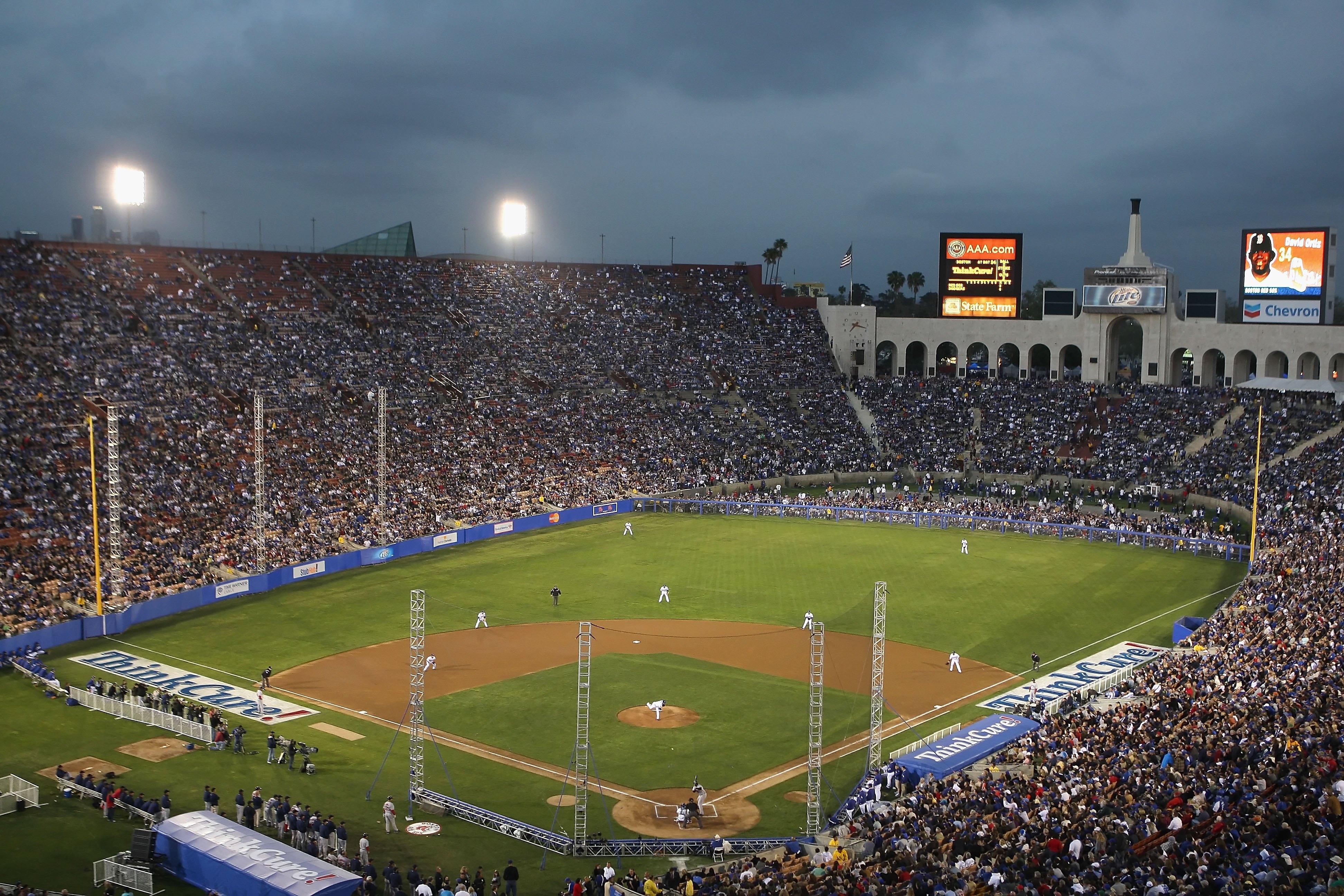 Boston Red Sox v Los Angeles Dodgers