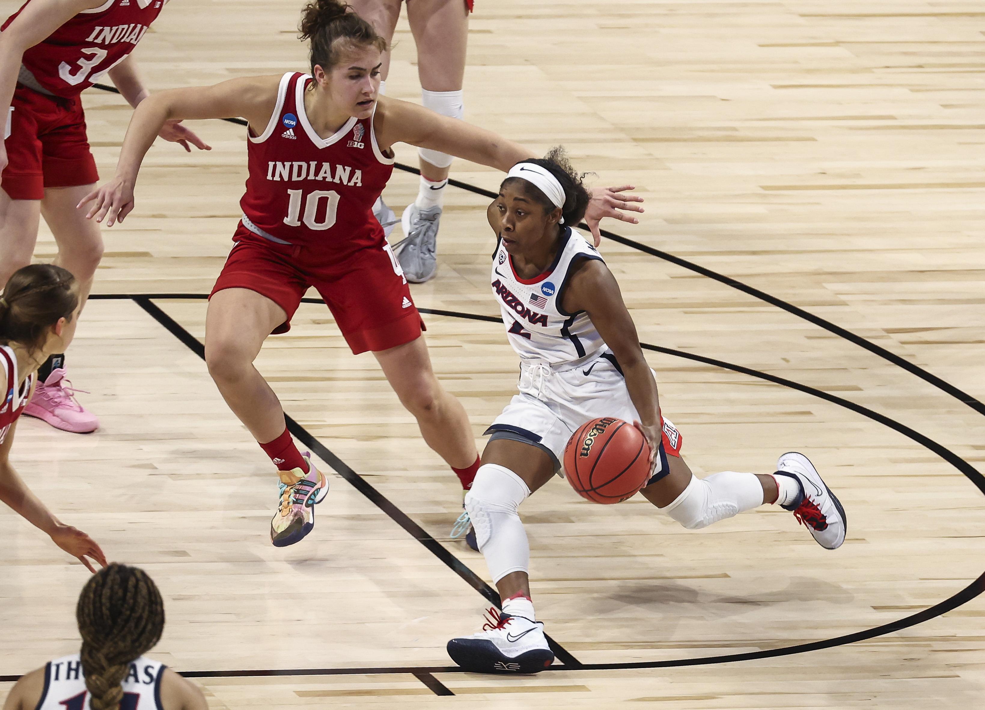 NCAA Womens Basketball: Elite Eight-Indiana at Arizona
