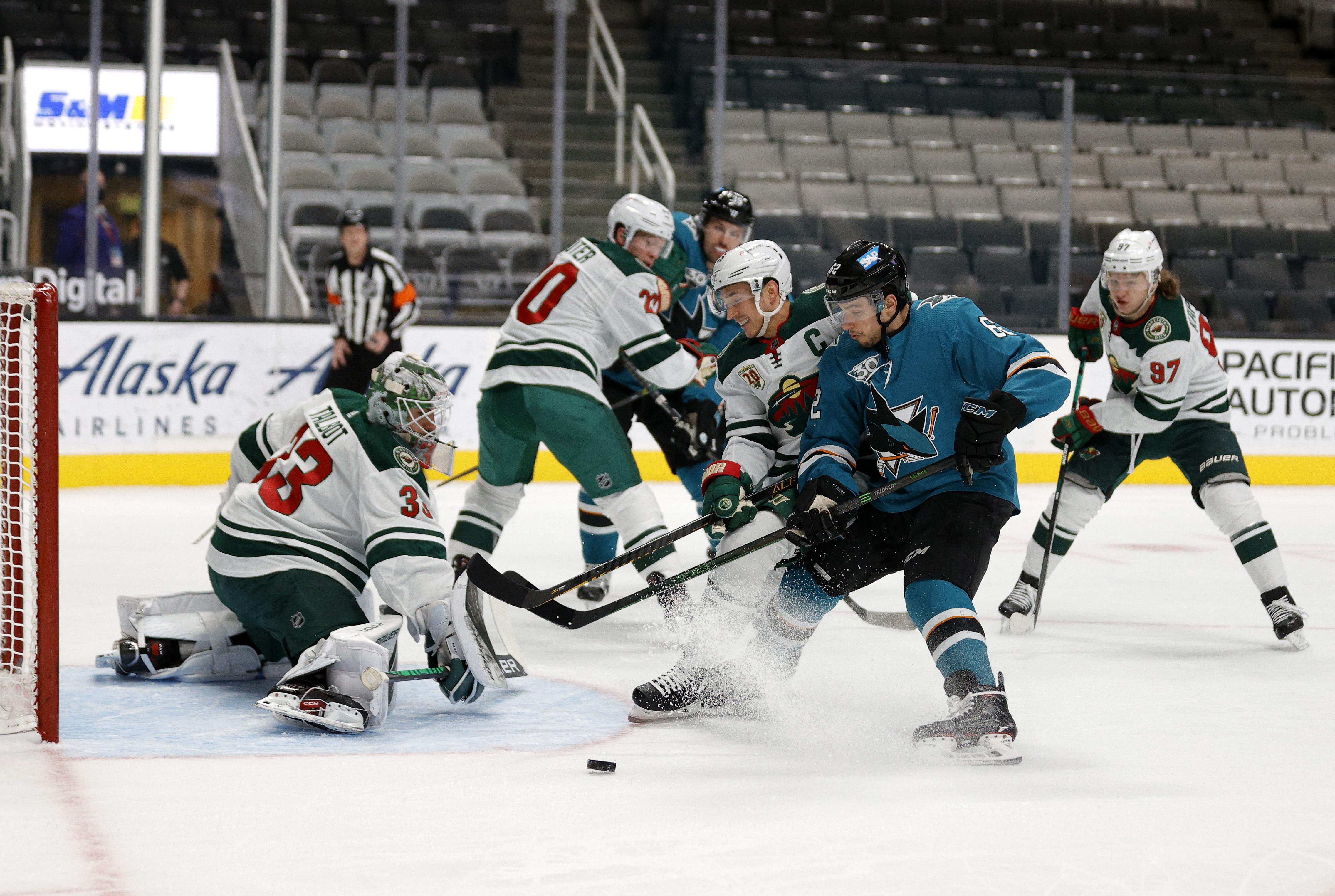 Minnesota Wild v San Jose Sharks