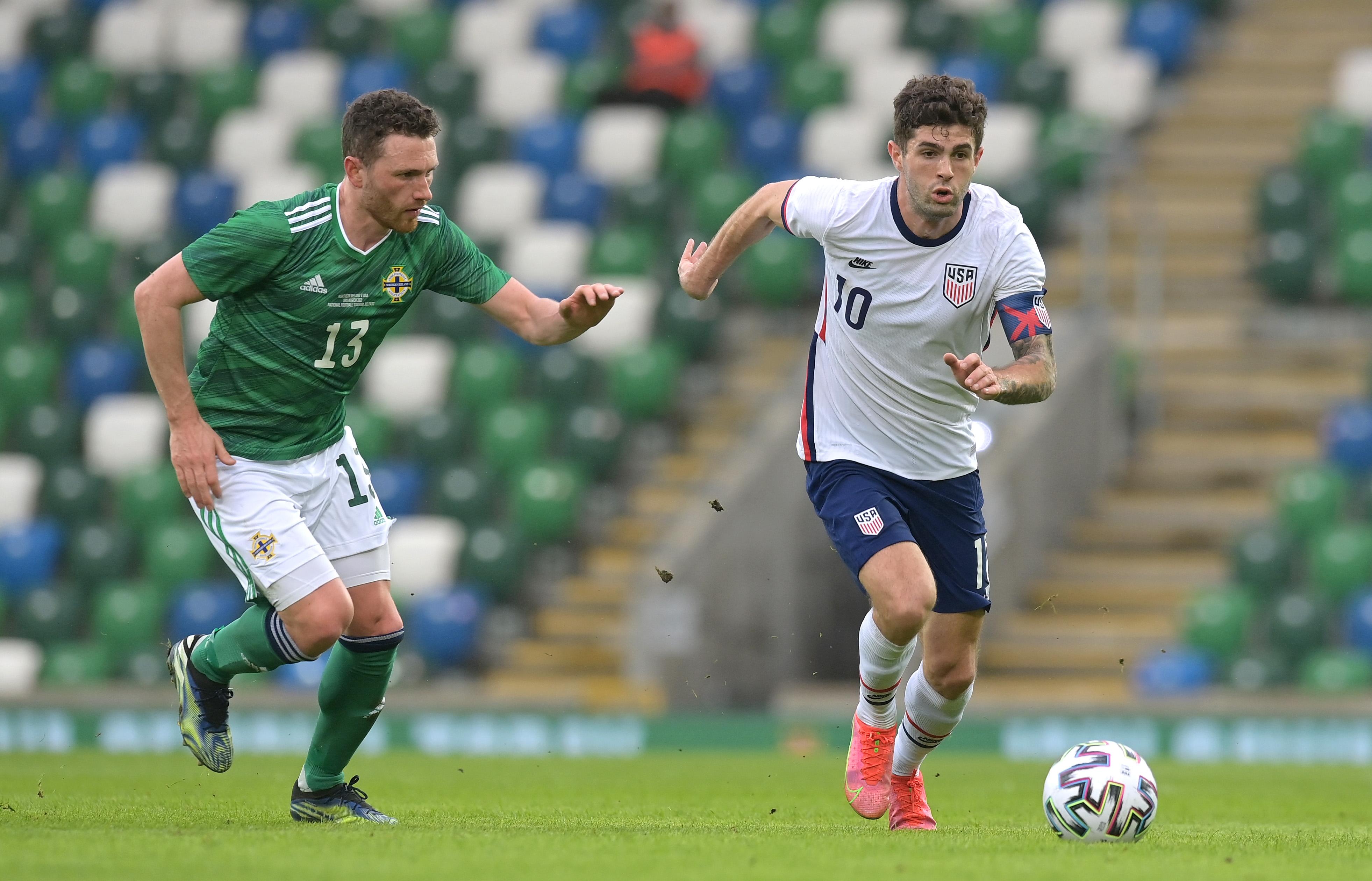 Northern Ireland v USA - International Friendly